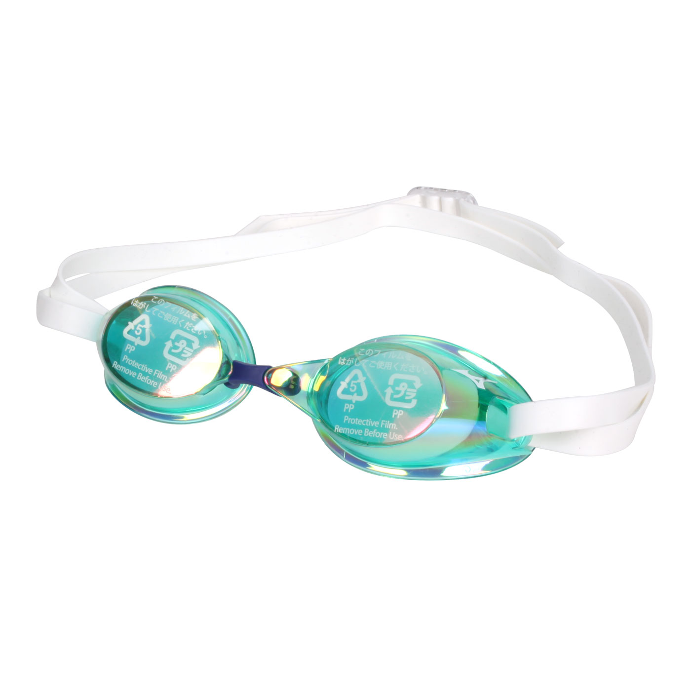 MIZUNO 泳鏡  SWIM85YA-75100-30 - 綠白藍