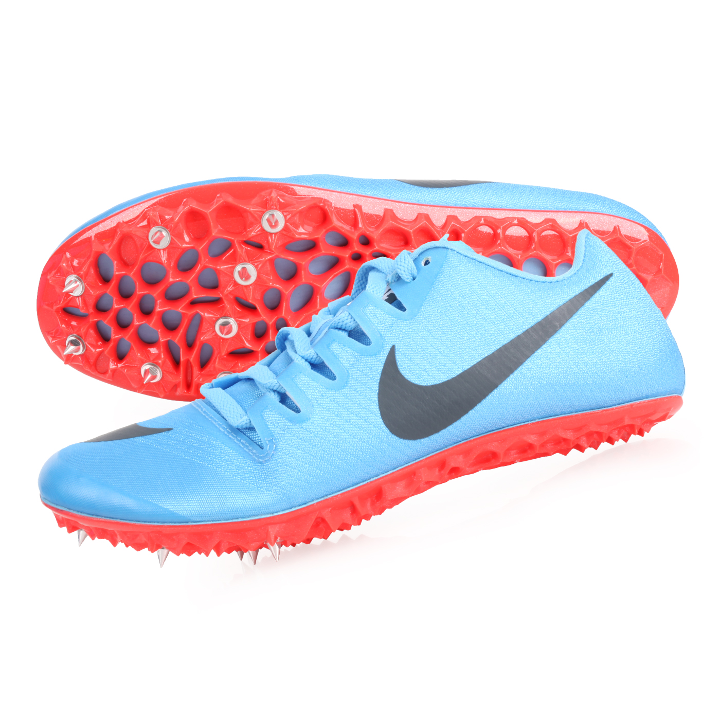 NIKE 田徑釘鞋(短距離)  @ZOOM JA FLY 3@865633001 - 水藍黑