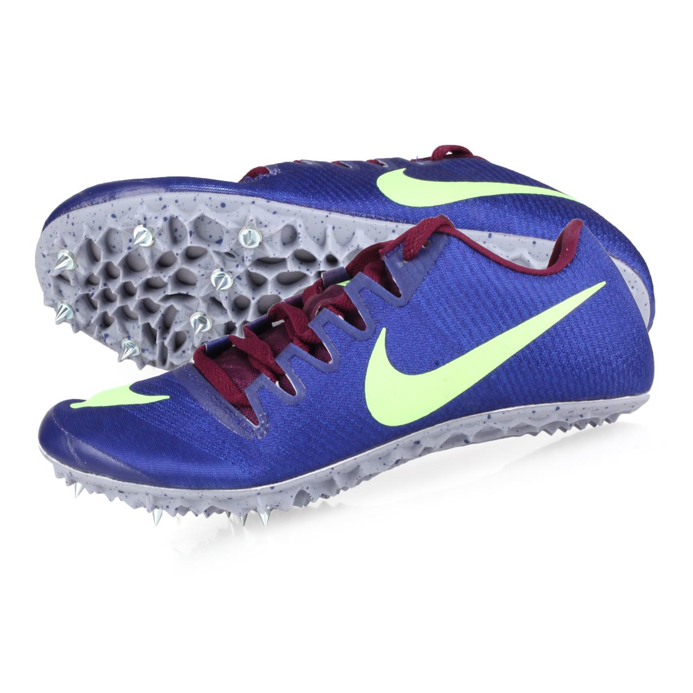 NIKE 田徑釘鞋(短距離)  @ZOOM JA FLY 3@865633001 - 藍紫螢光綠
