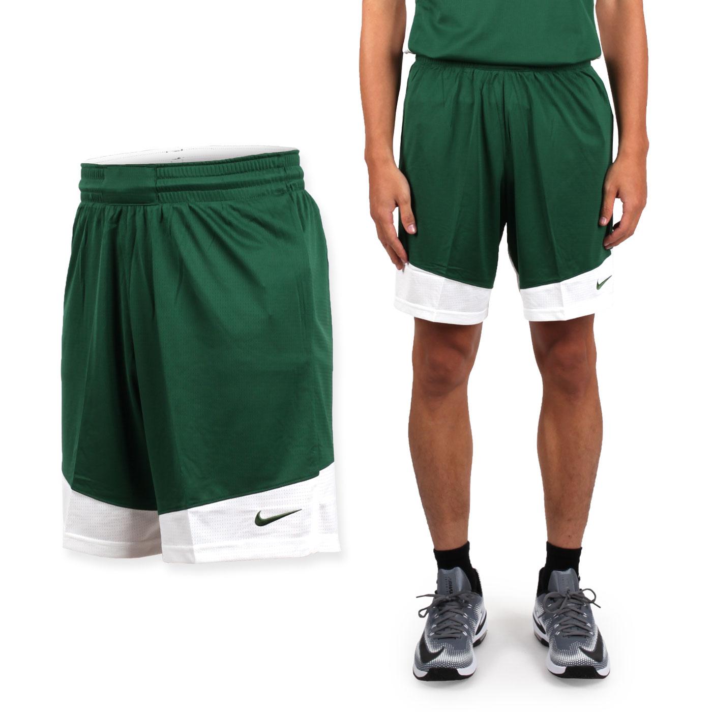 NIKE 男款籃球針織短褲 867769342 - 綠白
