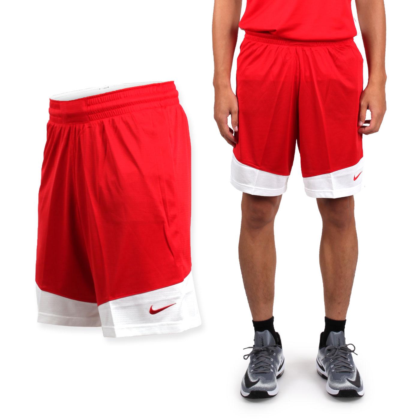 NIKE 男款籃球針織短褲 867769342 - 紅白