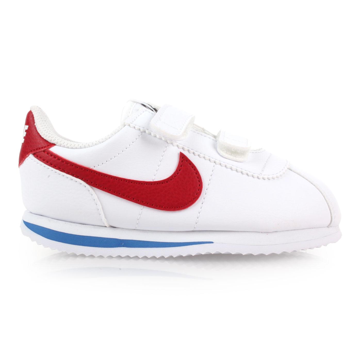 NIKE 兒童復古休閒鞋  @CORTEZ BASIC SL (TDV)@904769103 - 白紅藍