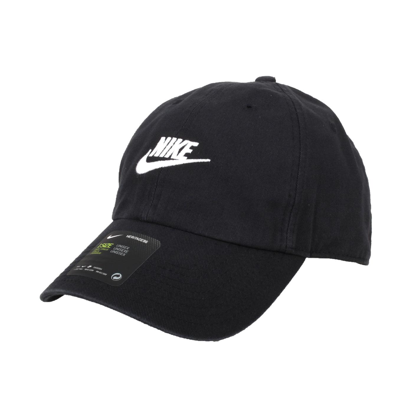 NIKE 帽子 913011-010 - 黑白