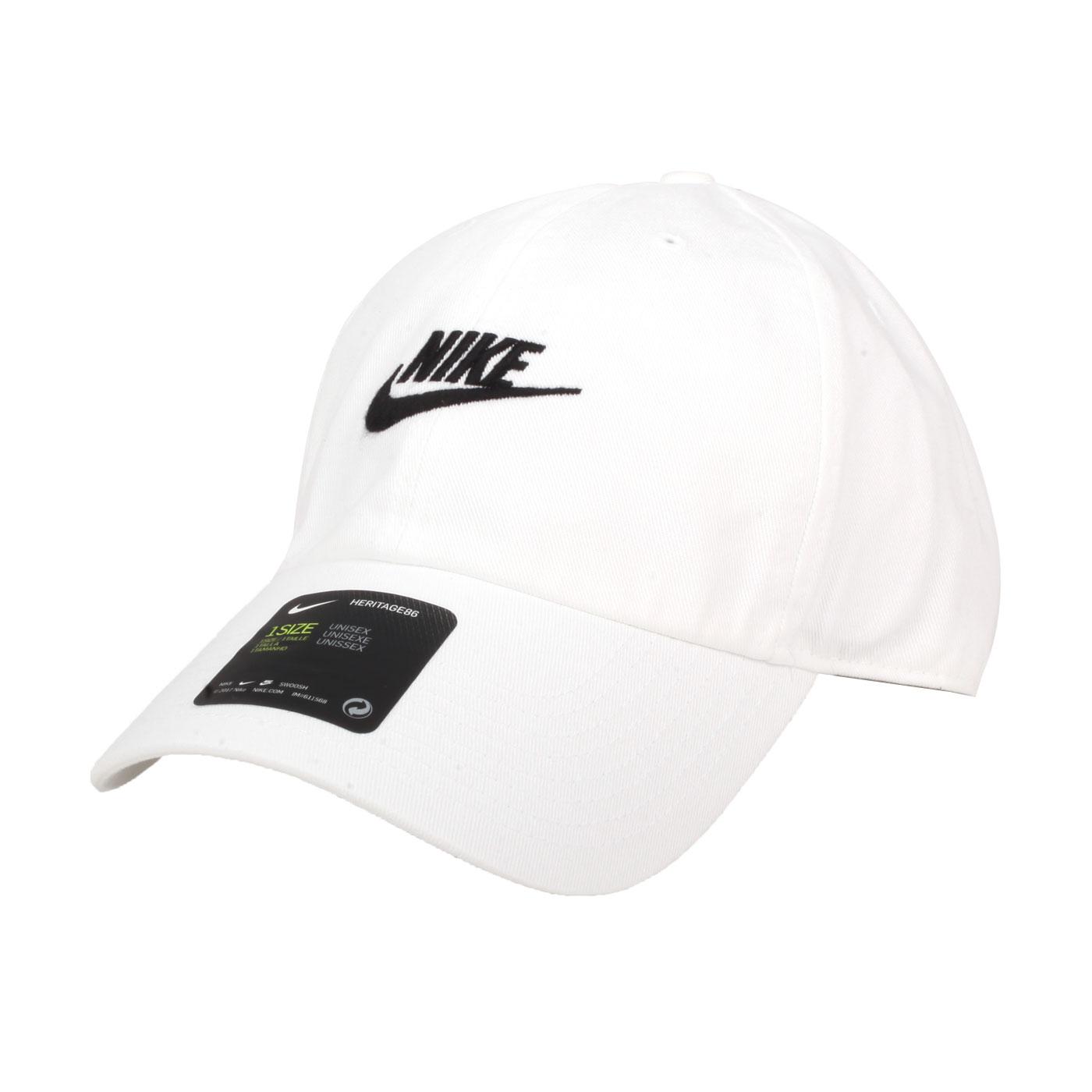 NIKE 帽子 913011-100 - 白黑