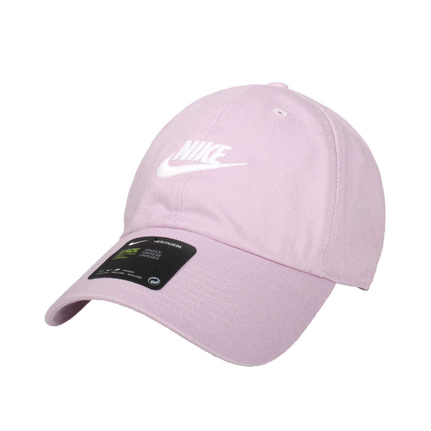NIKE 棒球帽 913011-576 - 紫白