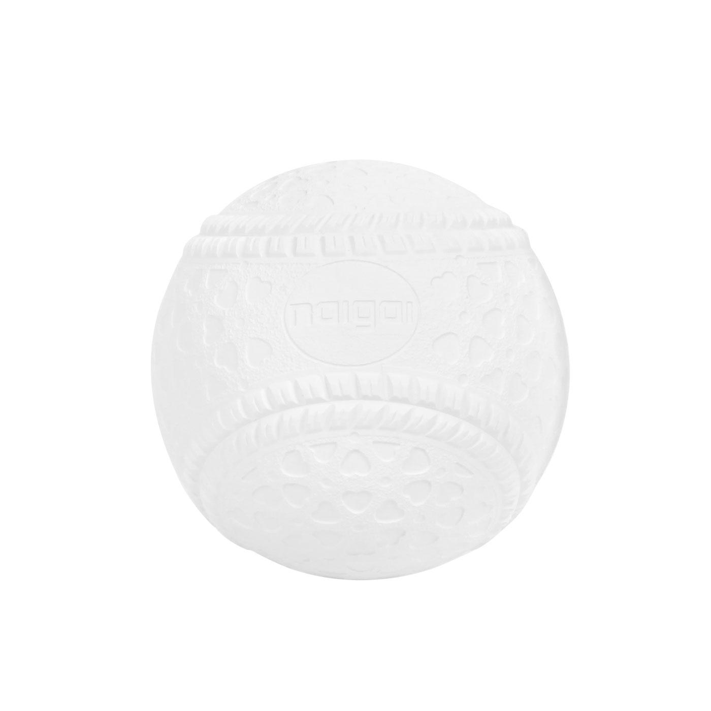 JEX田徑用品 日製-軟式棒球(單顆裝)A-BABL-211M-1 - 白
