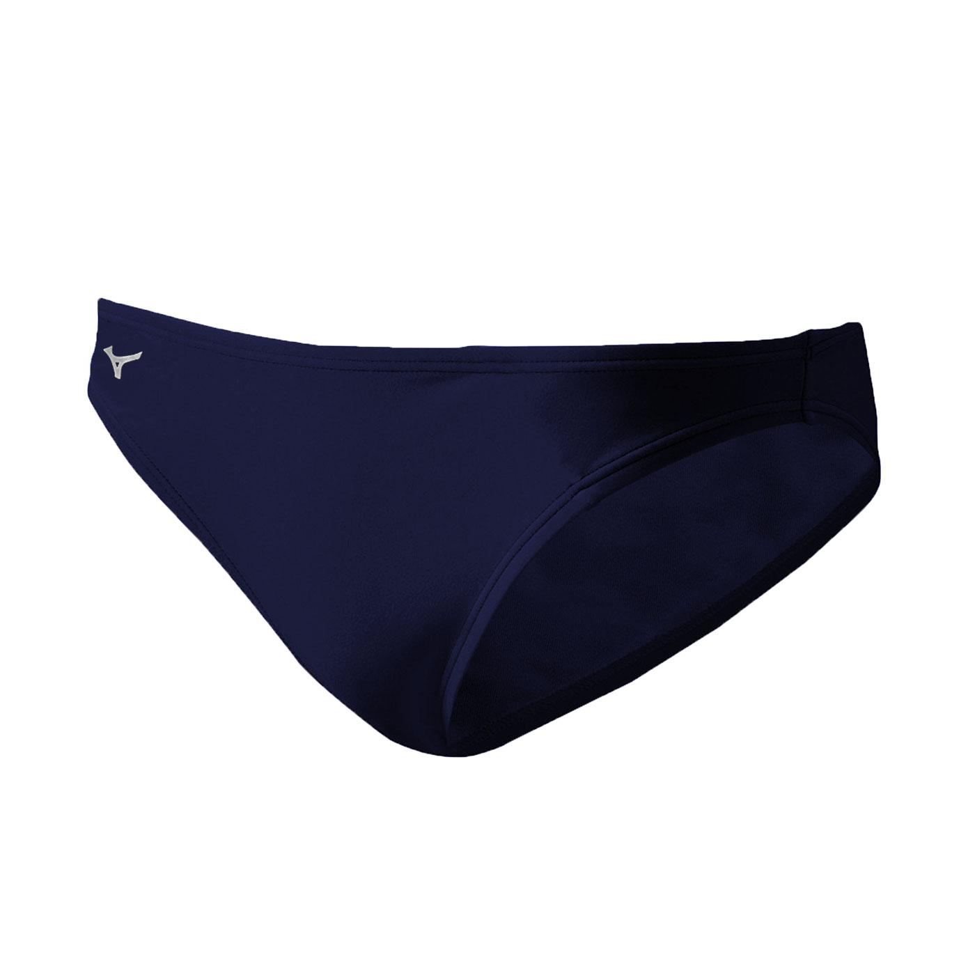 MIZUNO BASIC男三角泳褲 A85UE25009 - 丈青白