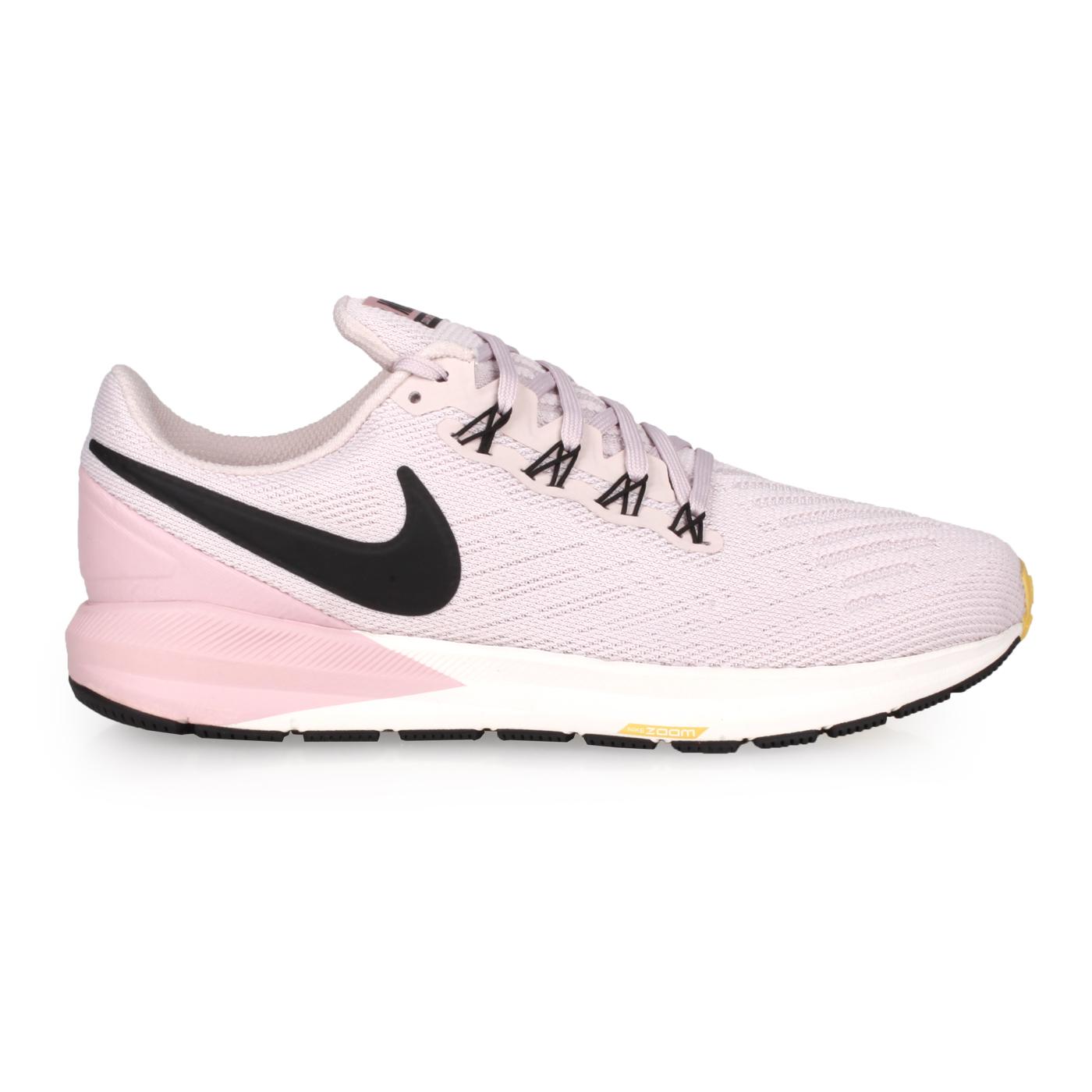 NIKE 女款慢跑鞋  @W AIR ZOOM STRUCTURE 22@AA1640009 - 粉藕黑