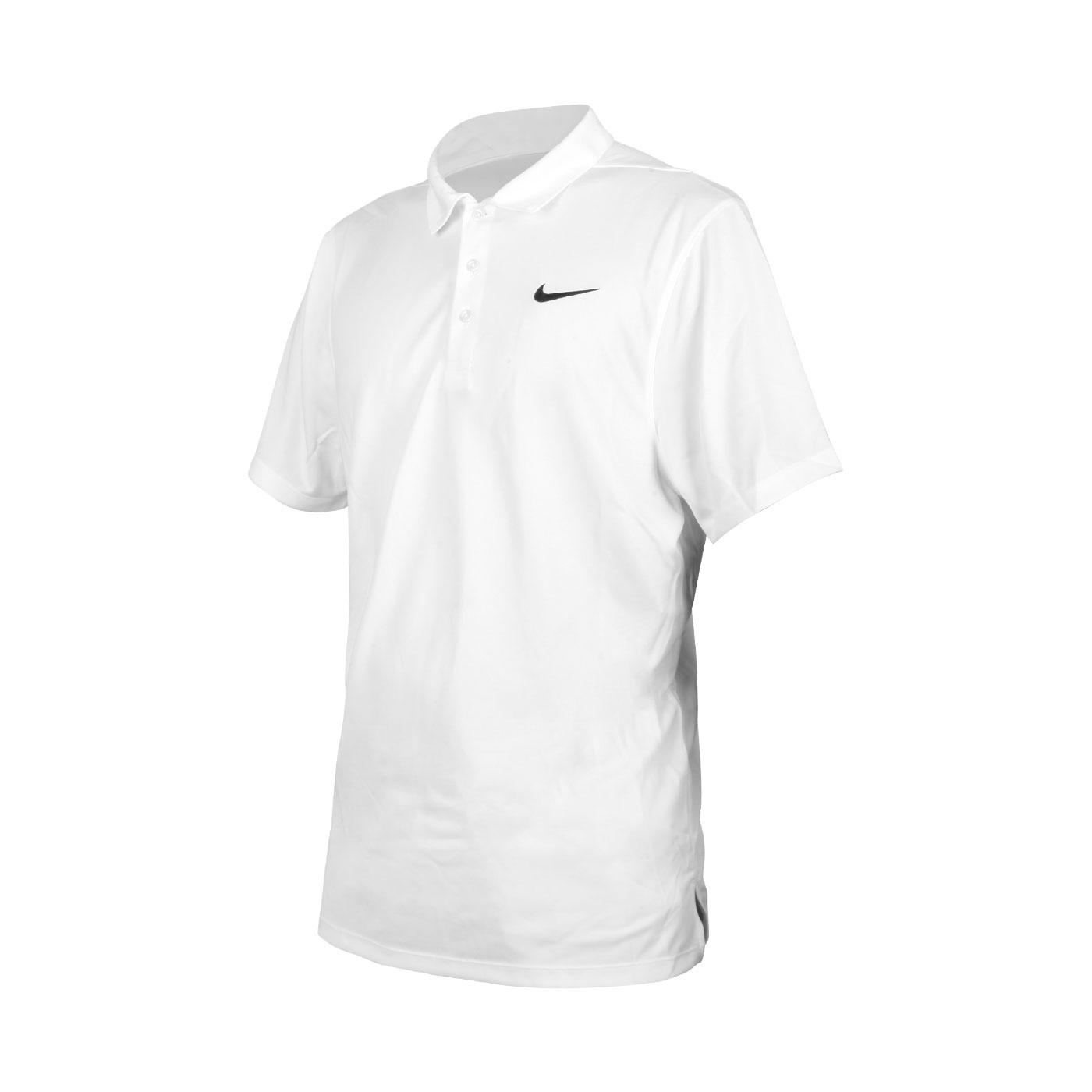 NIKE 男款短袖POLO衫 APS080-100 - 白黑