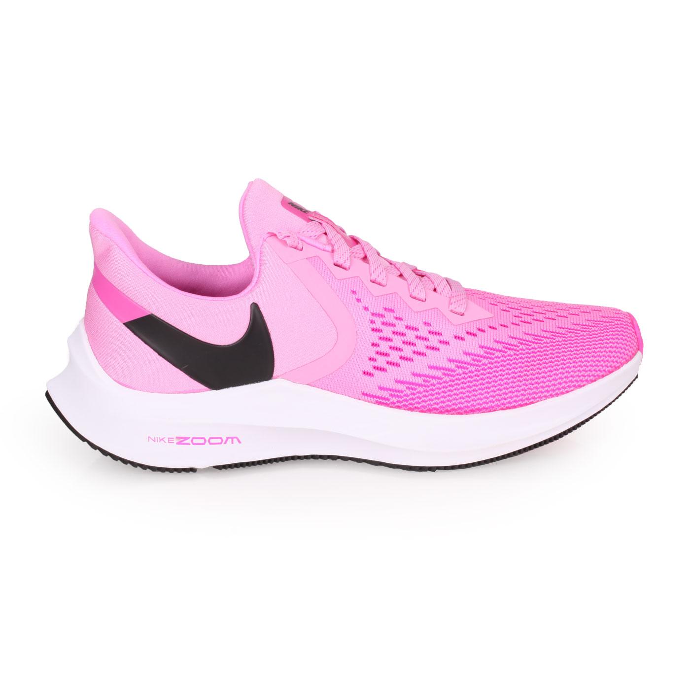 NIKE 女款慢跑鞋  @WMNS ZOOM WINFLO 6@AQ8228600 - 桃紅黑