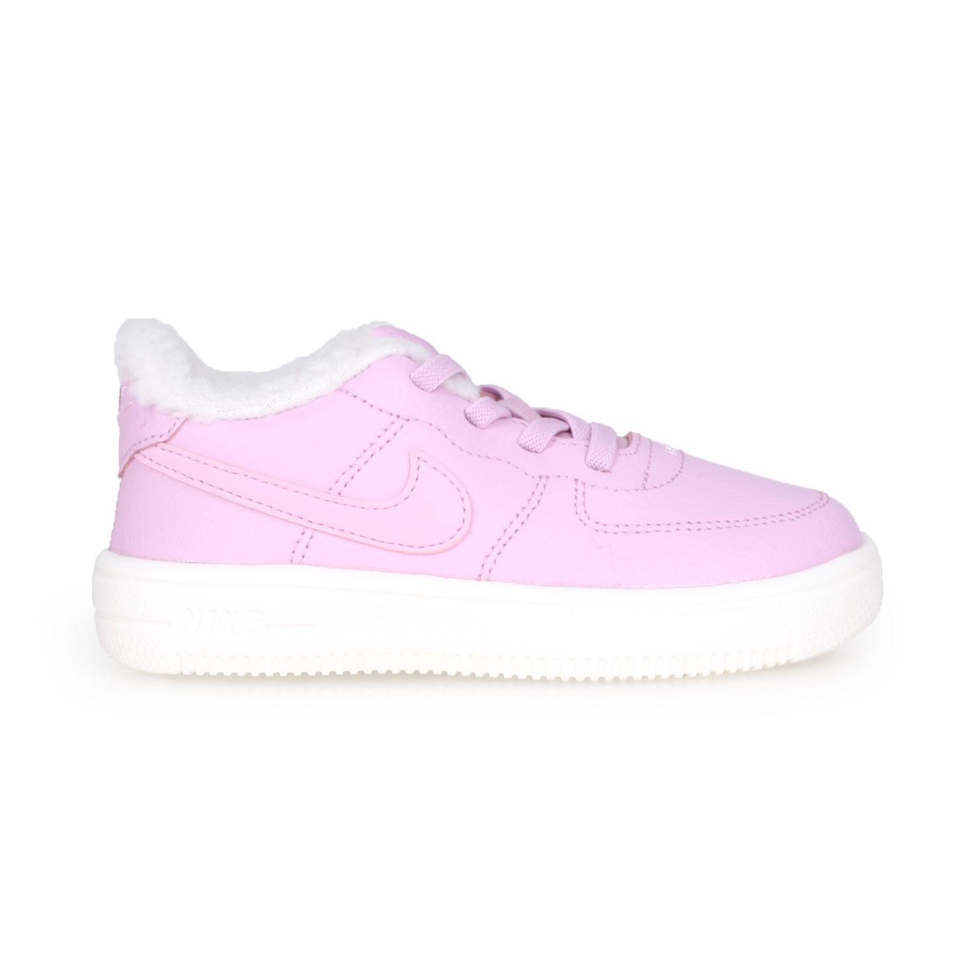 NIKE 兒童運動鞋  @FORCE 1 '18 SE(TD)@AR1134001 - 粉紫白
