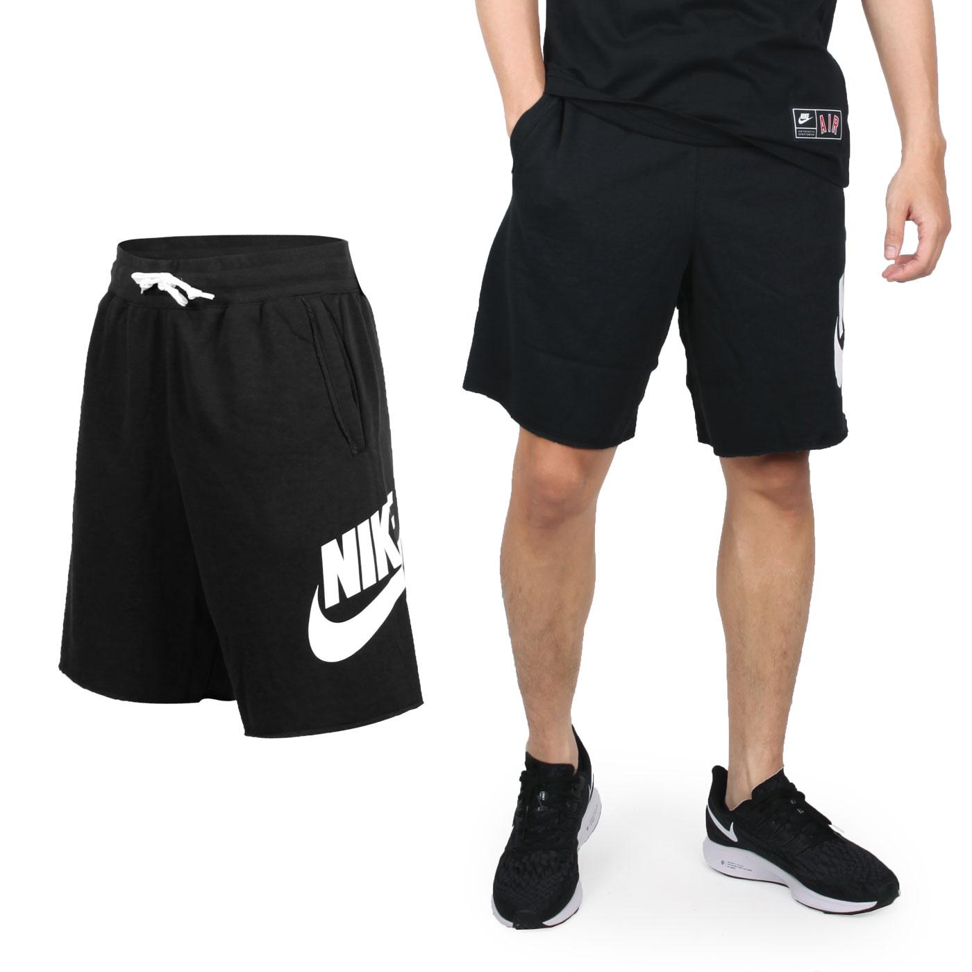 NIKE 男款休閒針織短褲 AR2376010 - 黑白