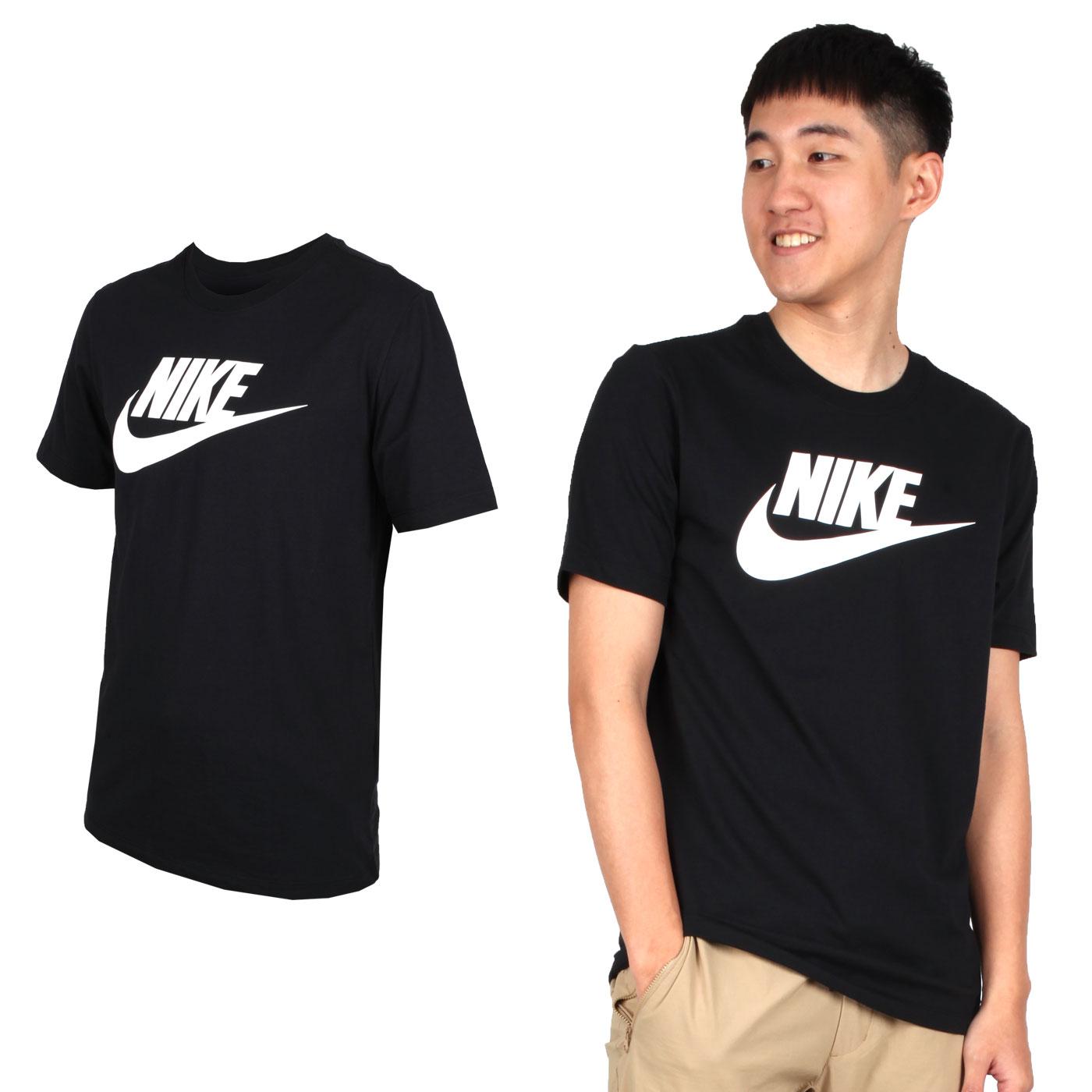 NIKE 男款短袖T恤 AR5005010 - 黑白