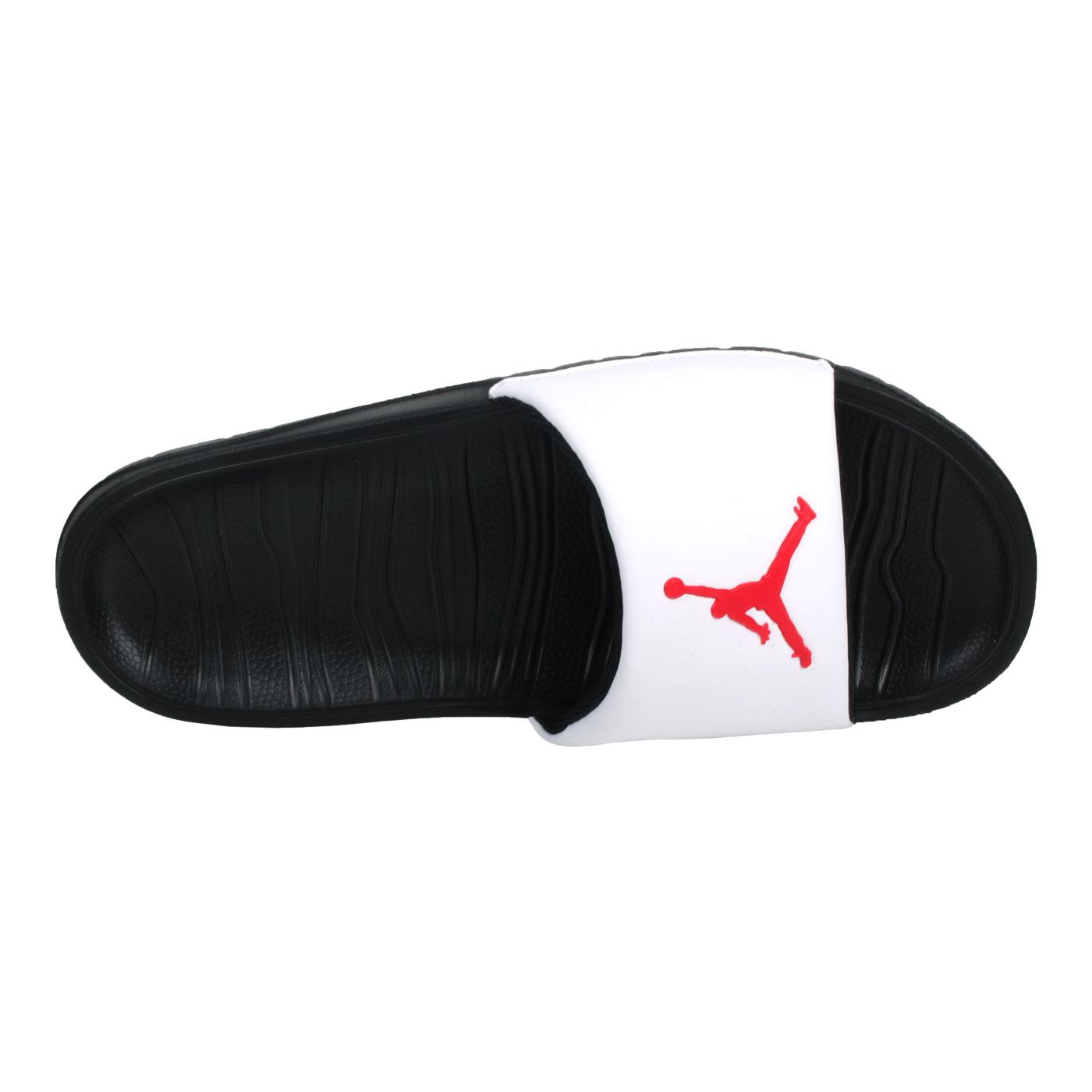 NIKE 男款拖鞋JORDAN  @BREAK SLIDE@AR6374016 - 白紅黑