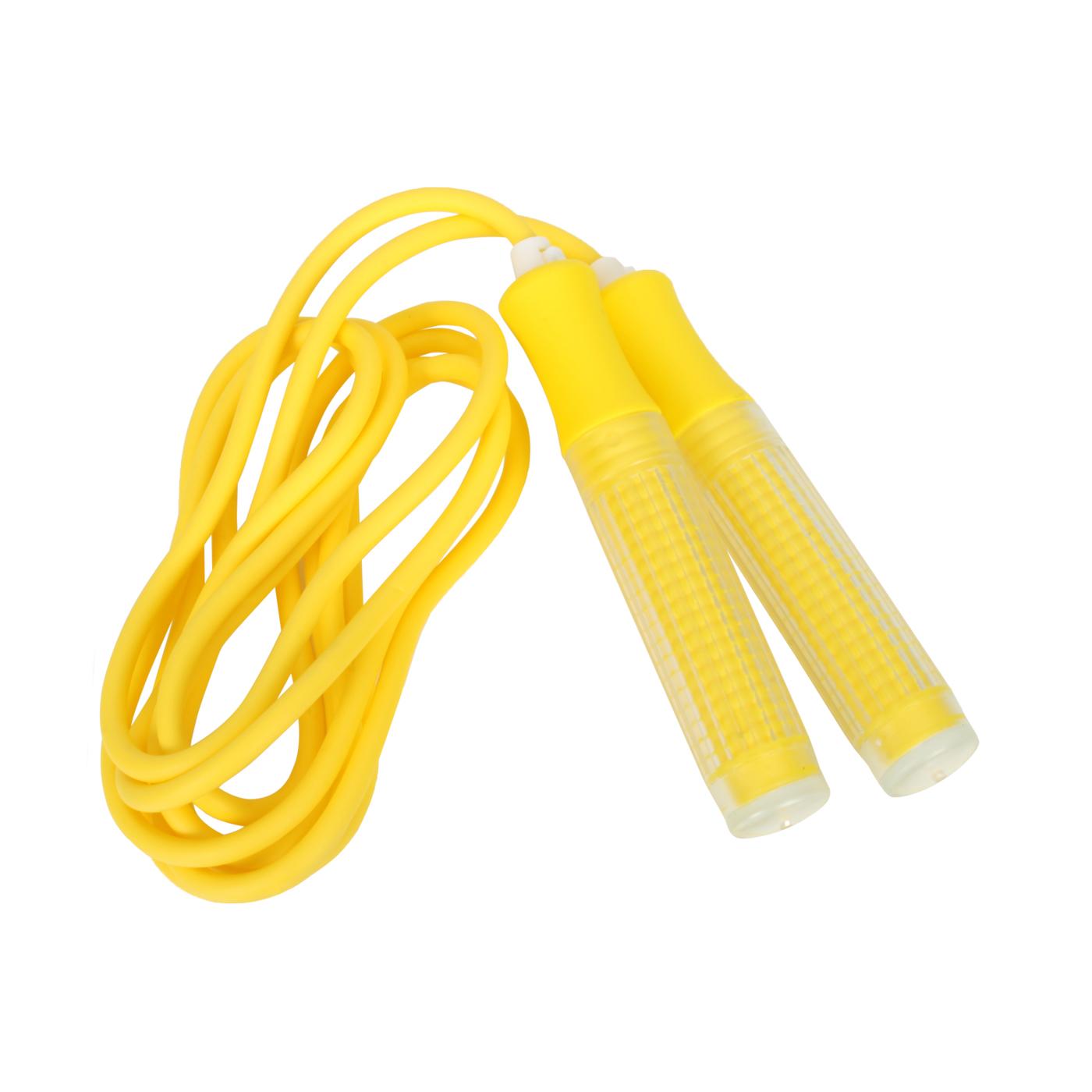 ALEX 粉彩可調式跳繩(黃) B-4802 - 黃