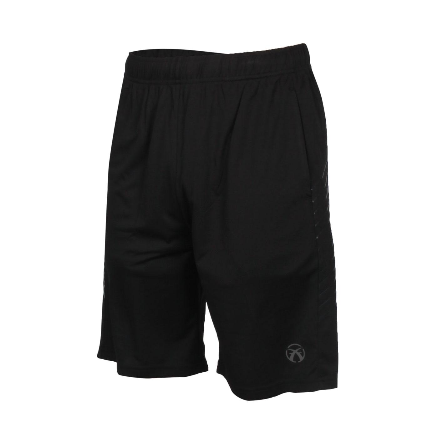FIRESTAR 男款吸排訓練籃球褲 B0506-10 - 黑灰