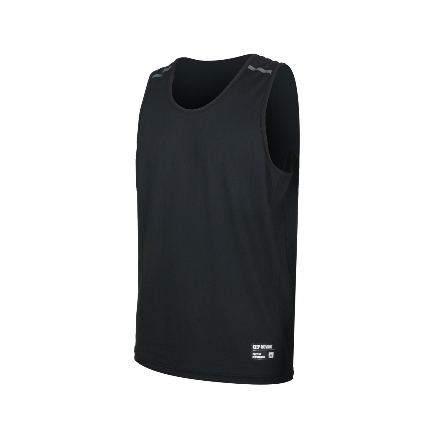 FIRESTAR 男款彈性訓練籃球背心 B0508-10 - 黑