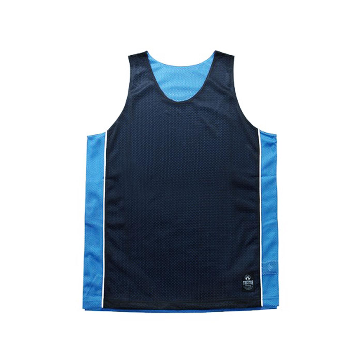FIRESTAR 籃球背心 B3707-10 - 丈青水藍