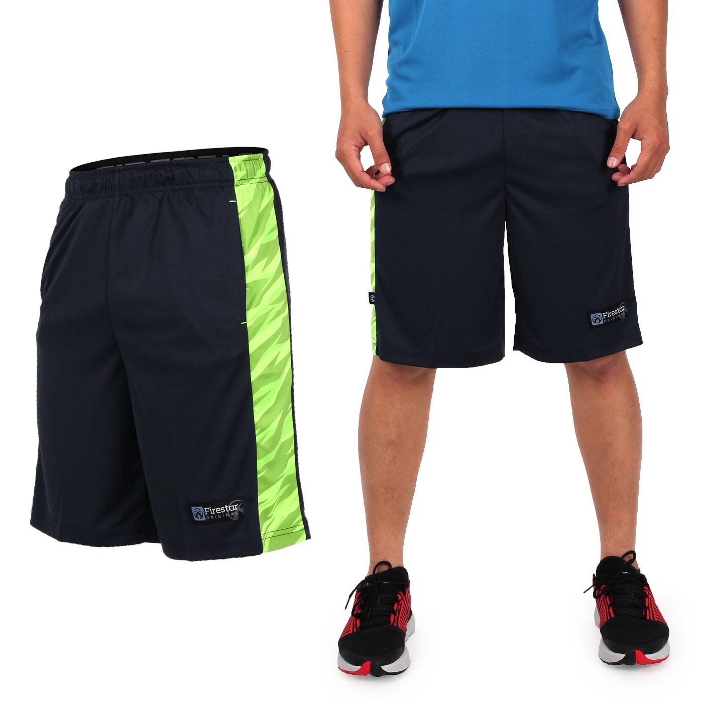 FIRESTAR 籃球褲 B7606-40 - 丈青綠