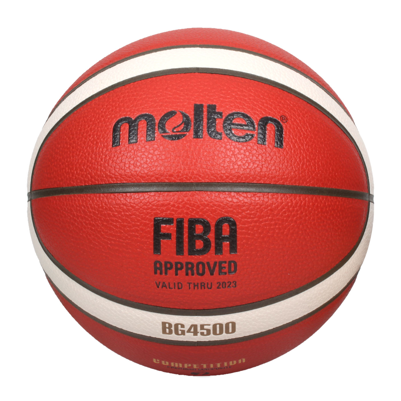 Molten #7合成皮超軟雙層12片貼籃球 B7G4500 - 橘咖啡米白