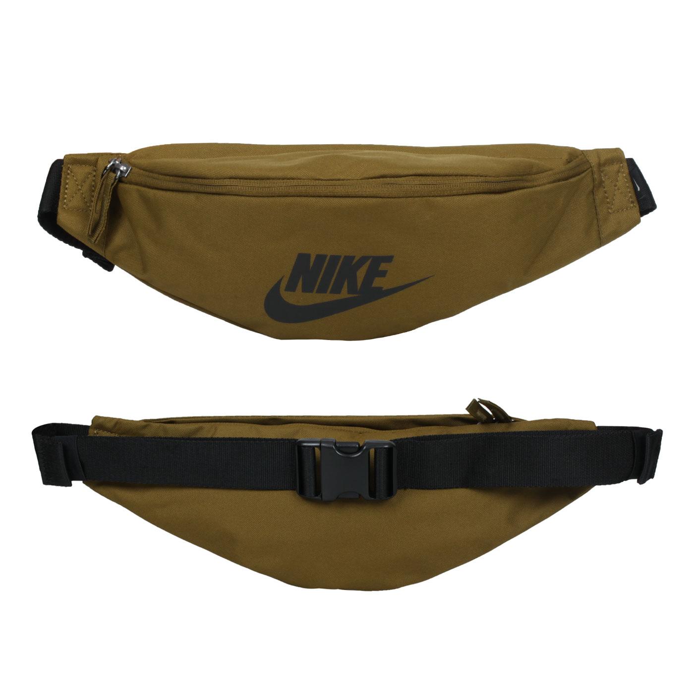 NIKE 運動腰包 BA5750-368 - 橄欖綠黑