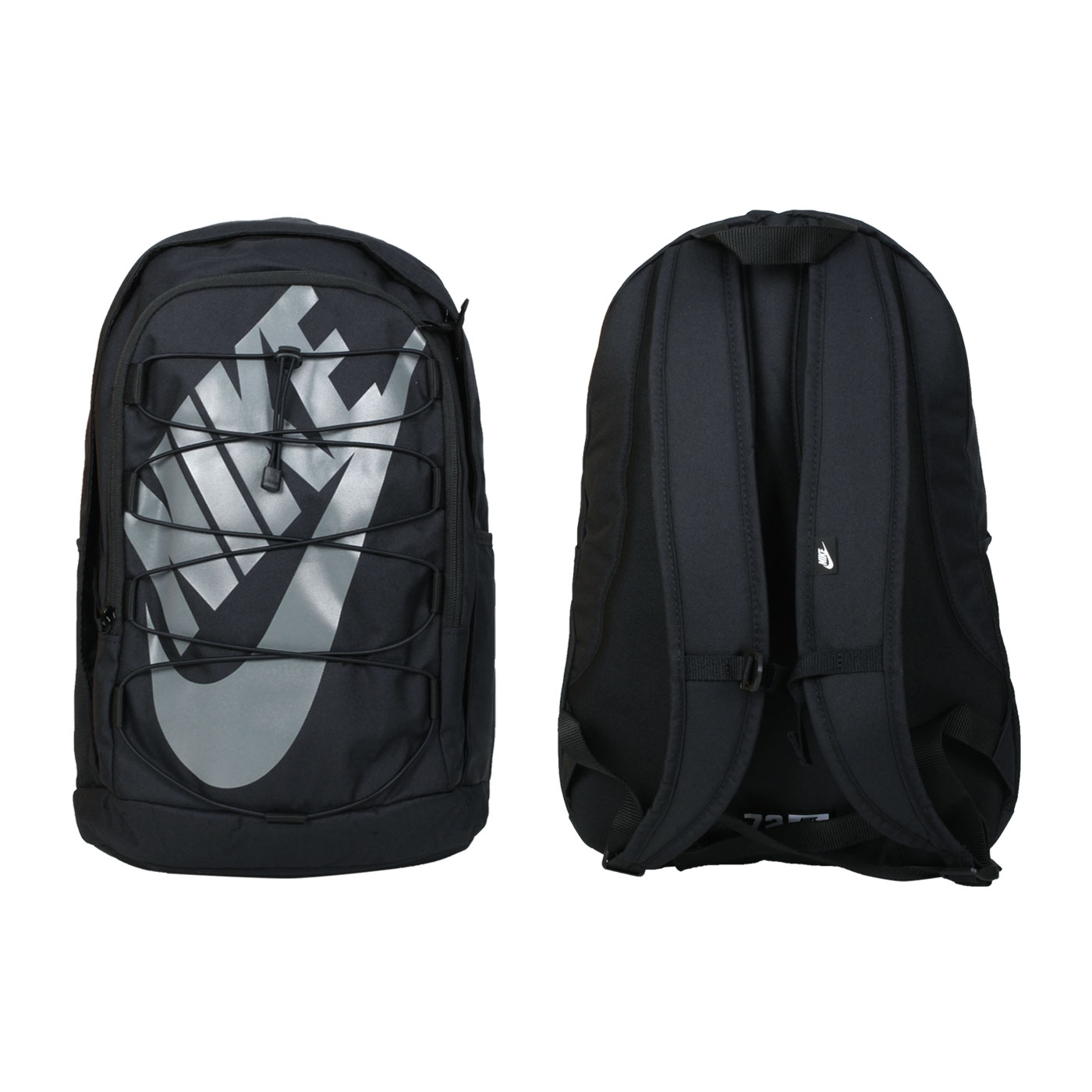 NIKE 大型後背包 BA5883-015 - 黑灰