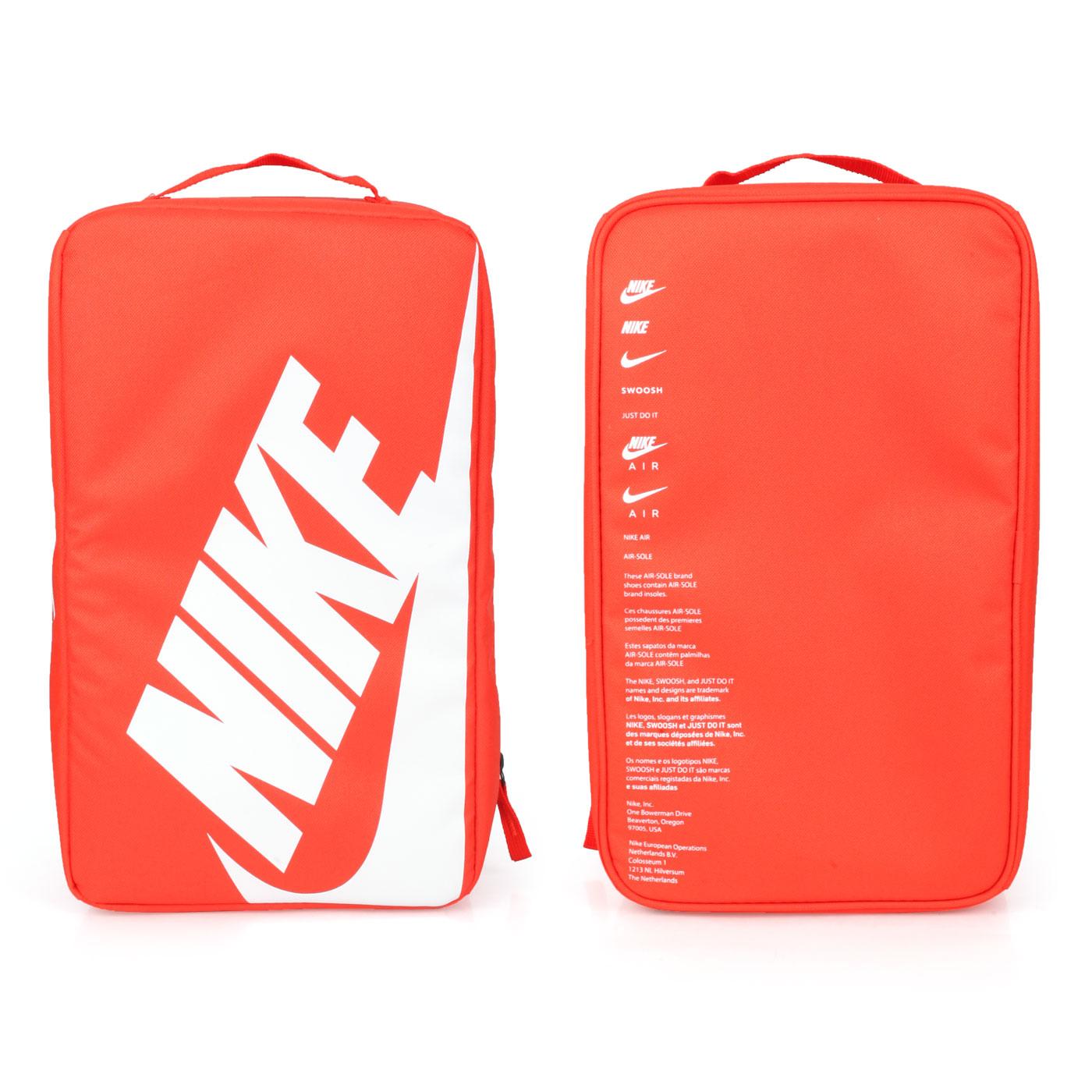 NIKE 鞋袋 BA6149-810 - 橘白