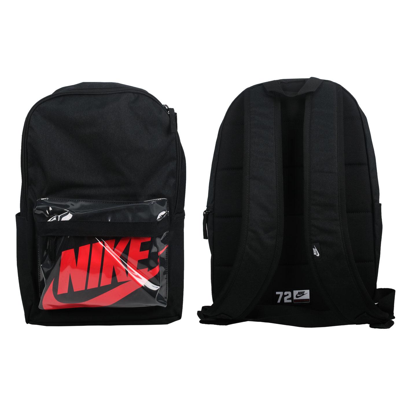 NIKE 大型後背包 BA6175-010 - 黑紅