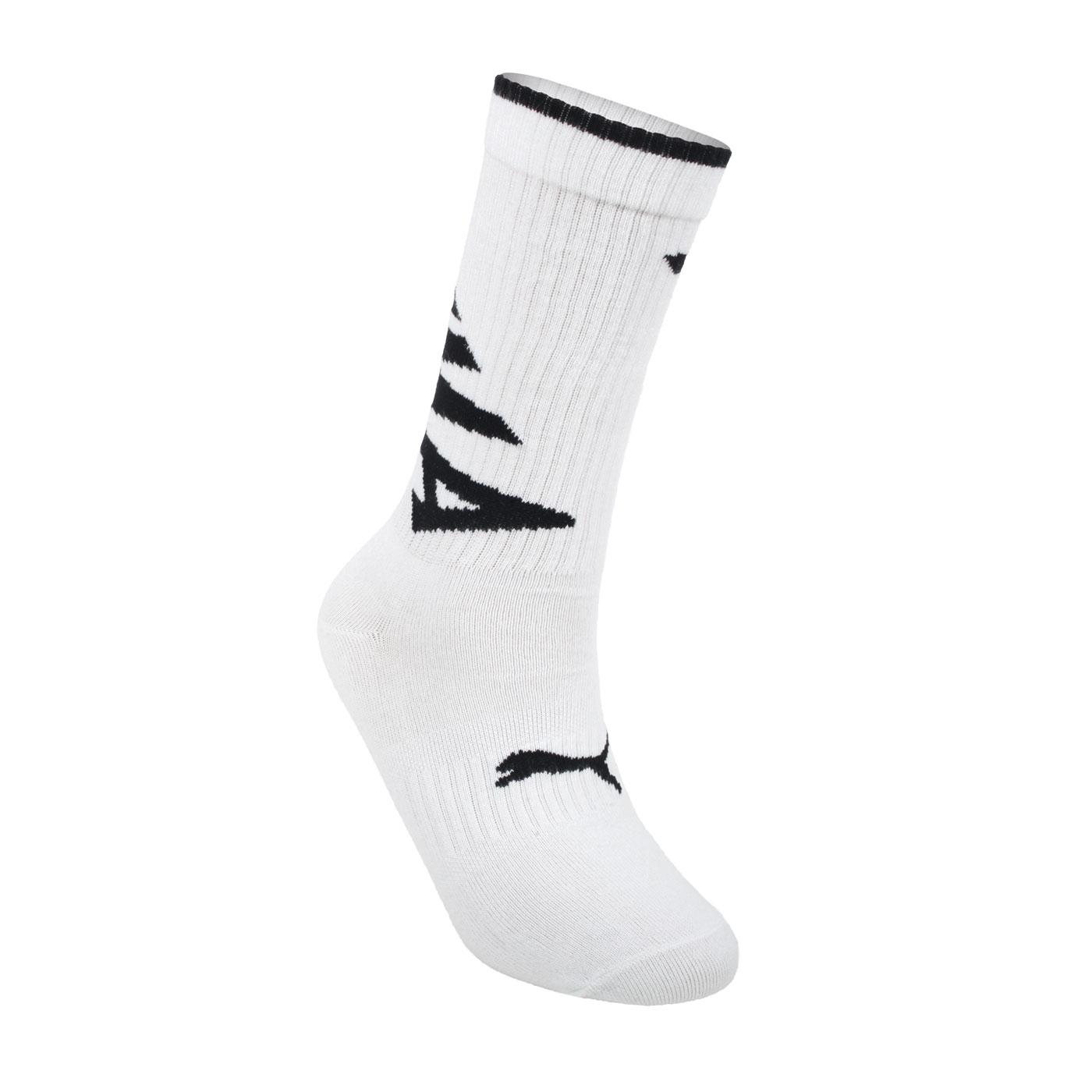 PUMA Fashion斜體半統襪 BB115201 - 白黑
