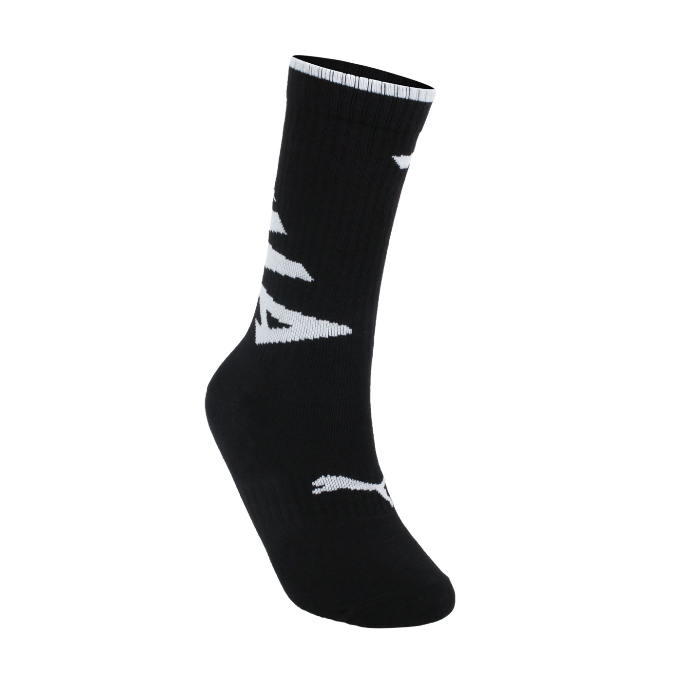 PUMA Fashion斜體半統襪 BB115201 - 黑白