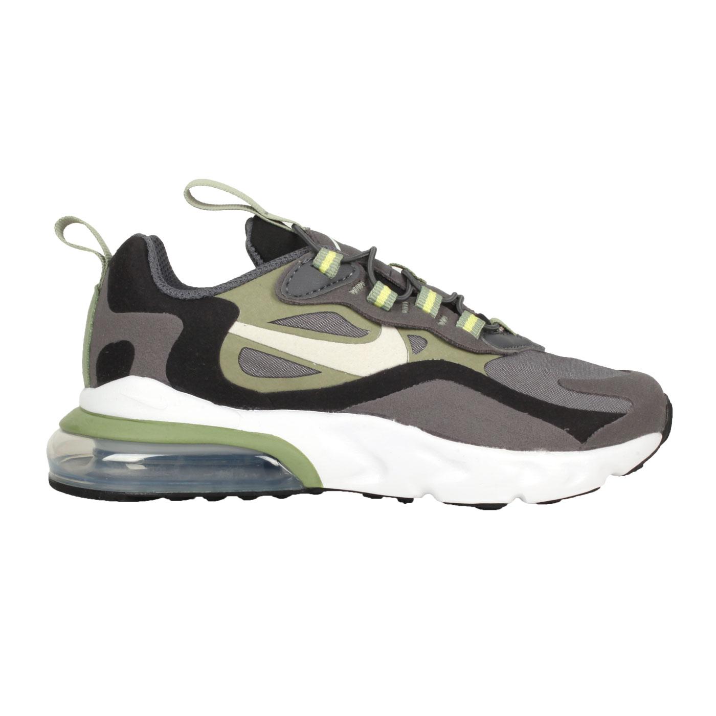 NIKE 中童運動休閒鞋  @AIR MAX 270 RT (PS)@BQ0102022 - 灰黑綠