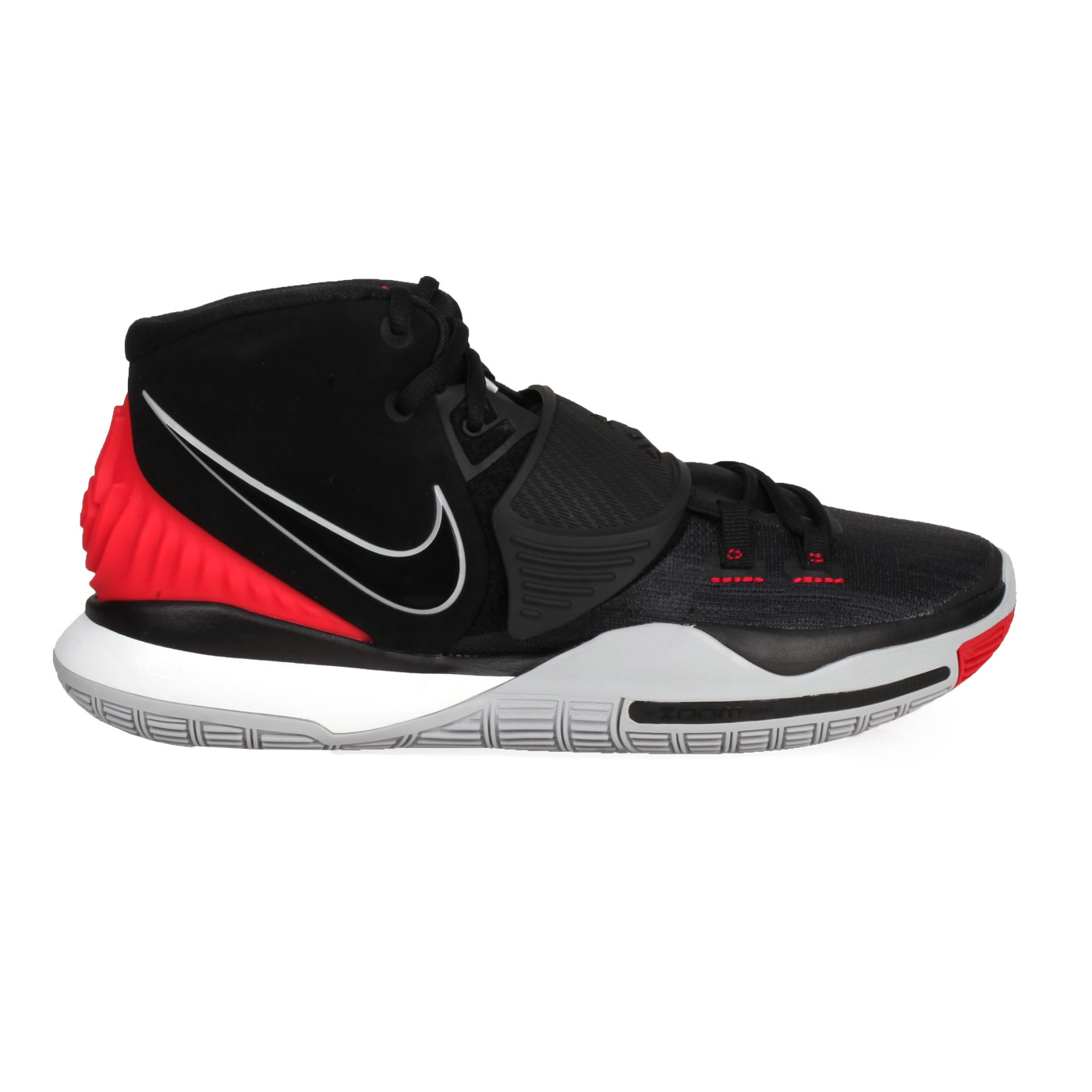 NIKE 男款籃球鞋  @KYRIE 6 EP@BQ4631002 - 黑灰紅