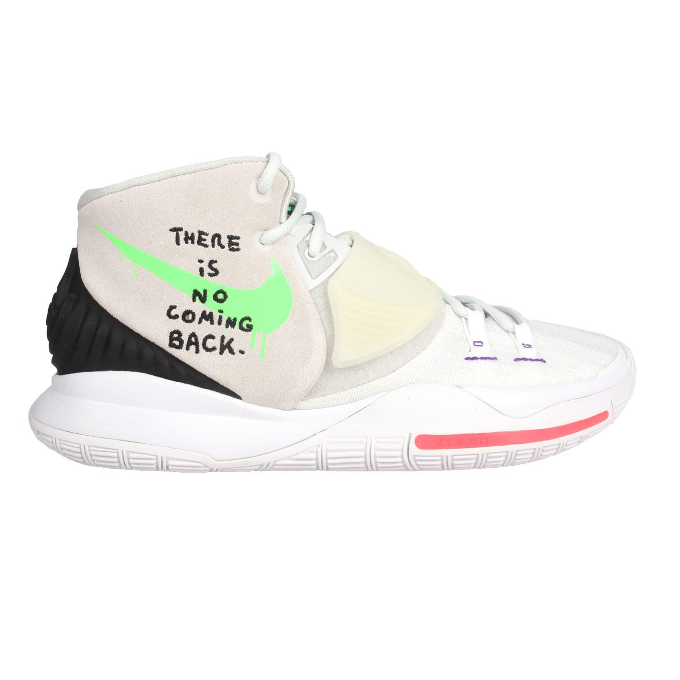NIKE 男款籃球鞋  @KYRIE 6 EP@BQ4631002 - 灰黑綠