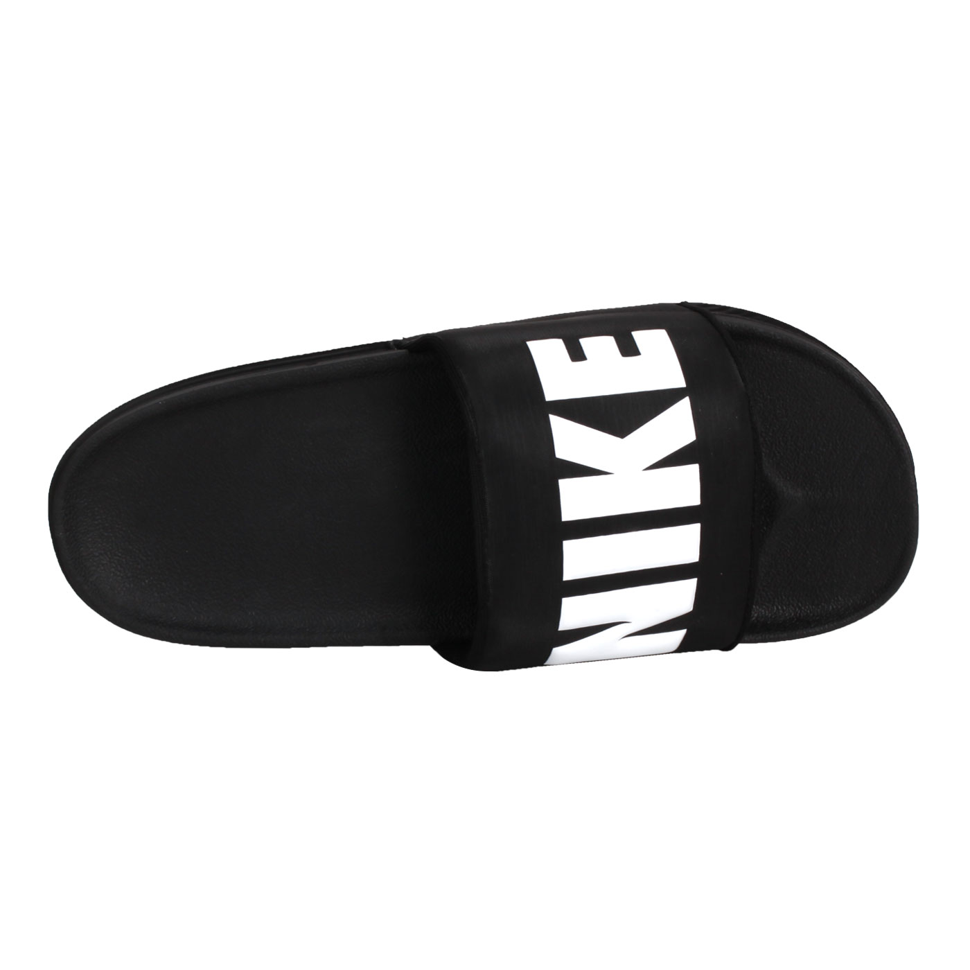 NIKE 男款運動拖鞋  @OFFCOURT SLIDE@BQ4639012 - 黑白