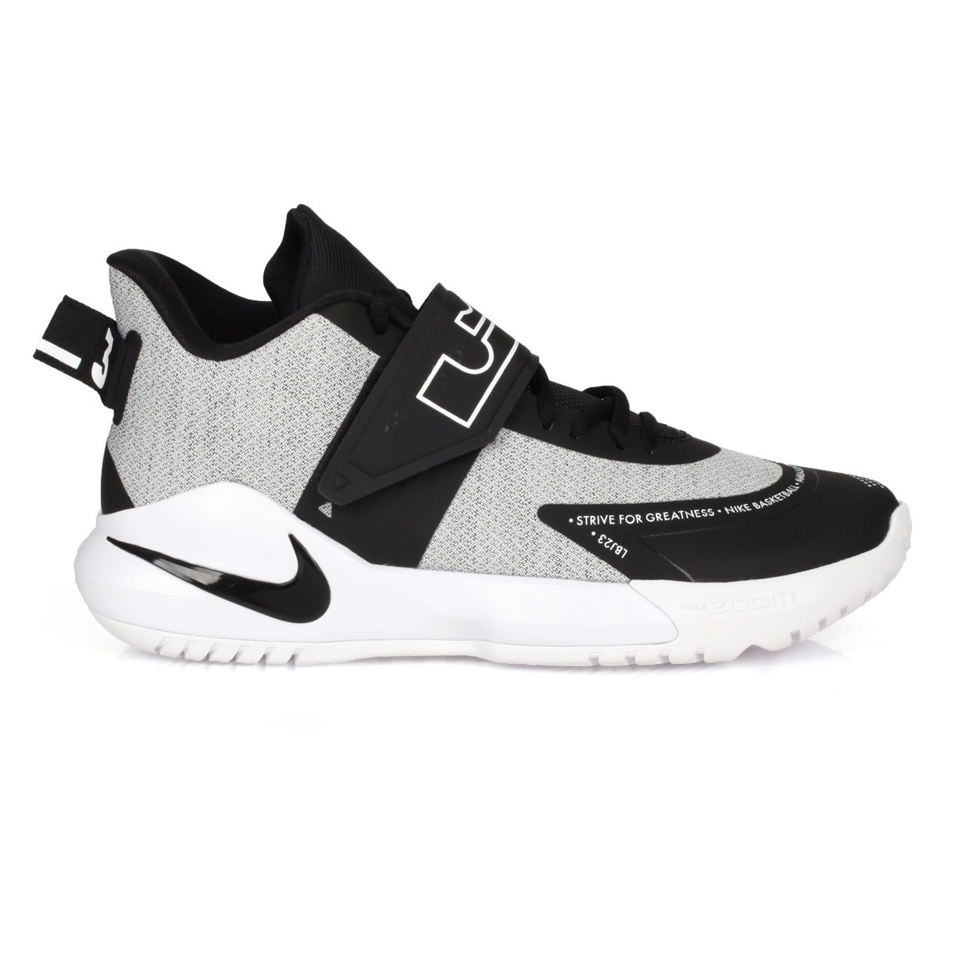 NIKE 男款籃球鞋  @AMBASSADOR XII@BQ5436005 - 黑白