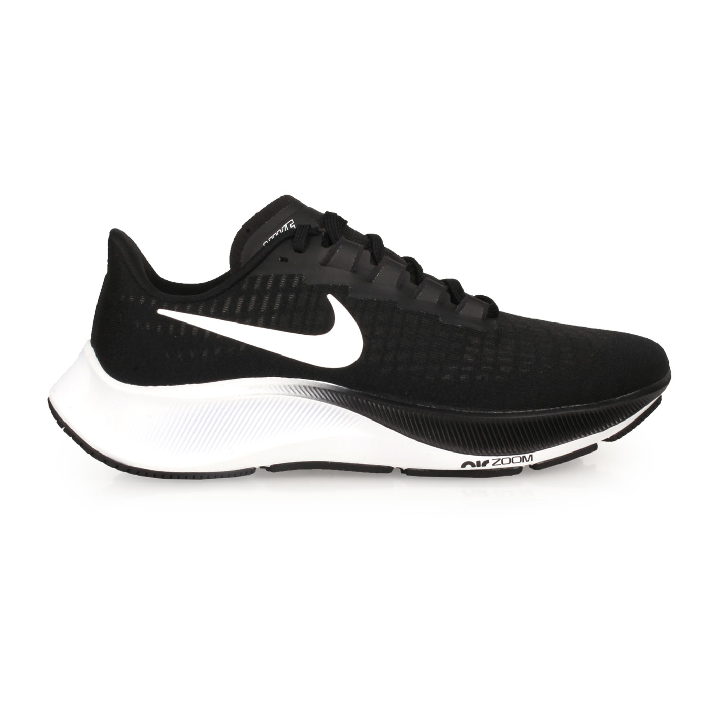 NIKE 女款慢跑鞋  @WMNS AIR ZOOM PEGASUS 37@BQ9647002 - 黑白