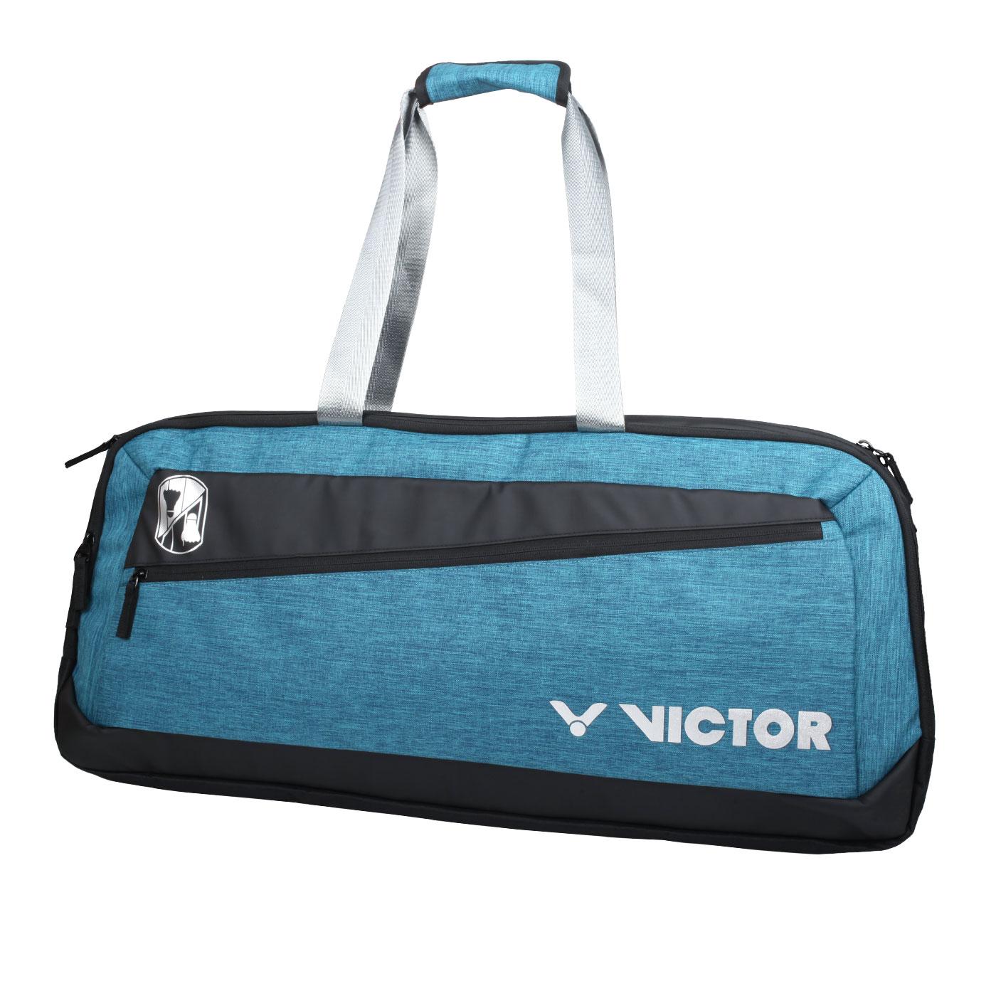 VICTOR 6支裝矩形包 BR3622FC - 墨藍黑銀
