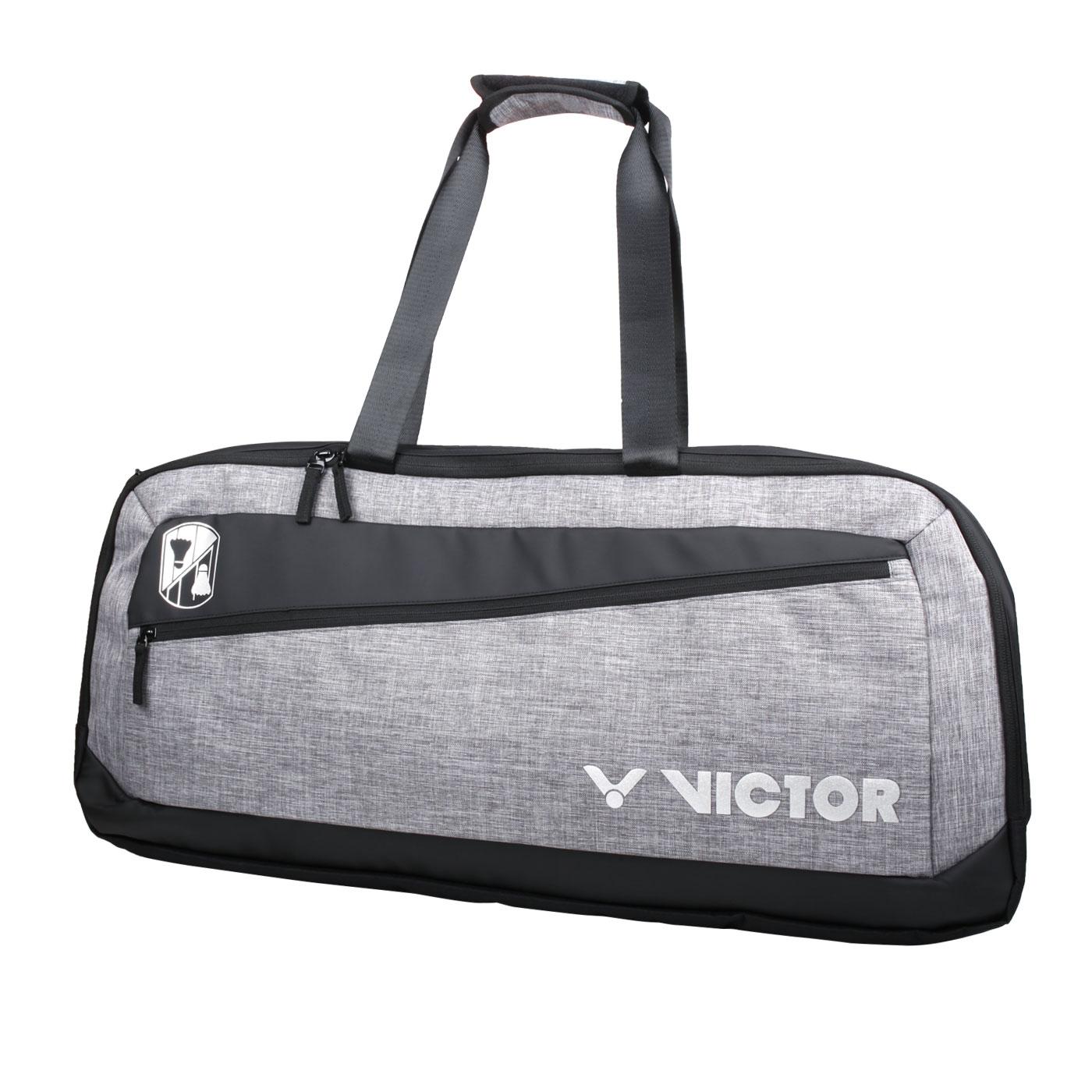 VICTOR 6支裝矩形包 BR3622FC - 灰黑銀