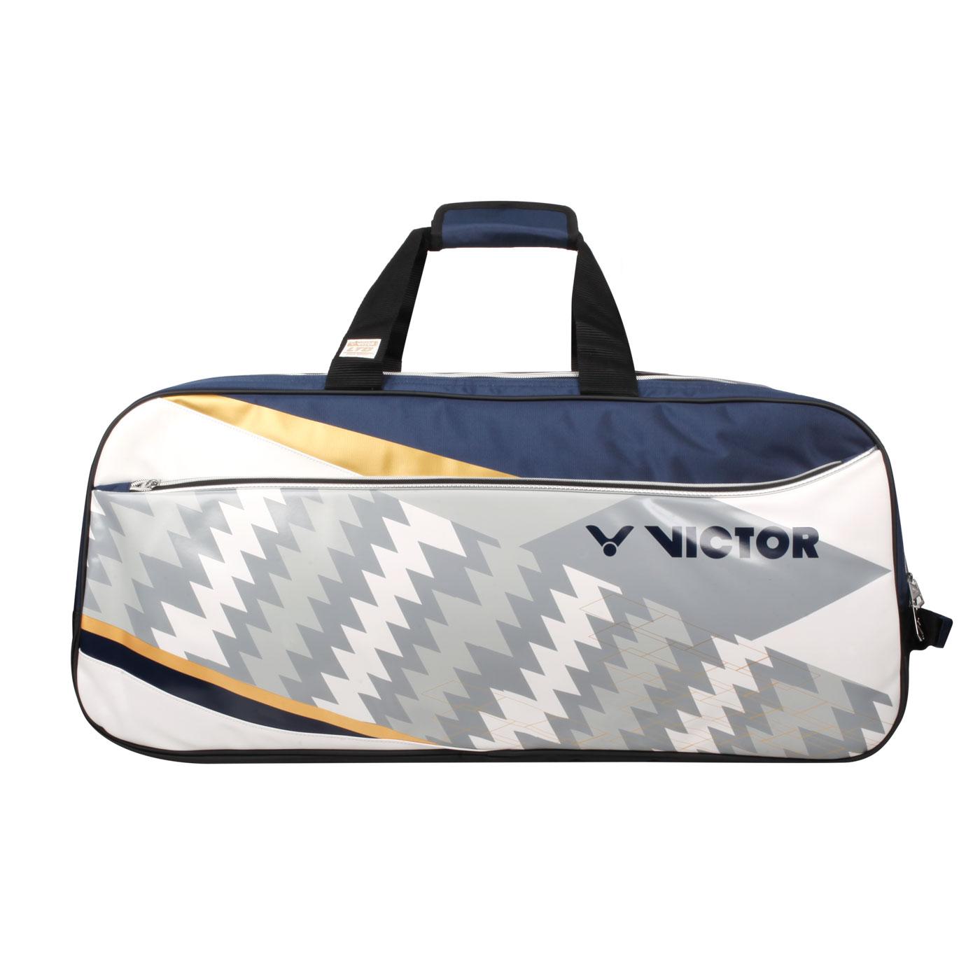 VICTOR 2020奧運系列12支裝矩形包 BR9609LTDAB - 丈青白灰金