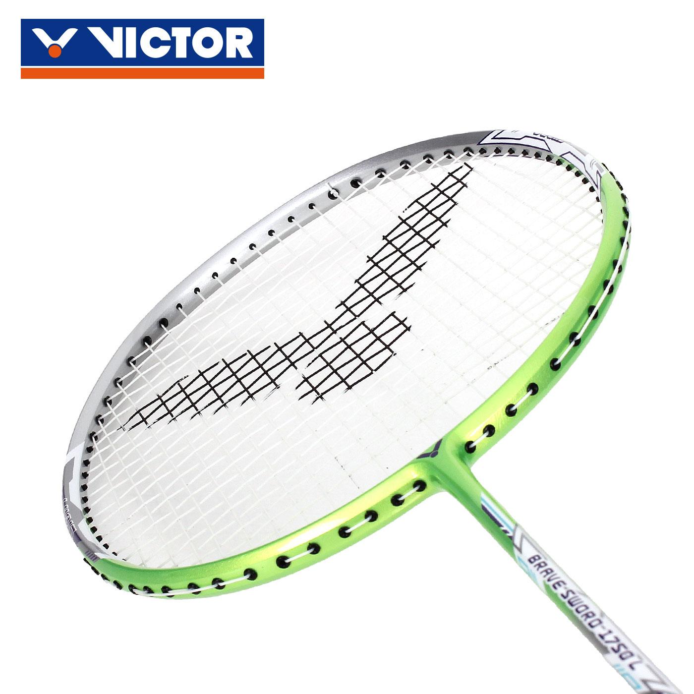 VICTOR 亮劍羽球拍(穿線)-5U BRS-1750L-5U - 綠銀