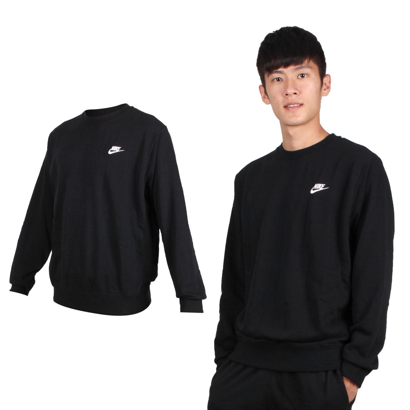 NIKE 男款長袖圓領T恤 BV2667-010 - 黑白
