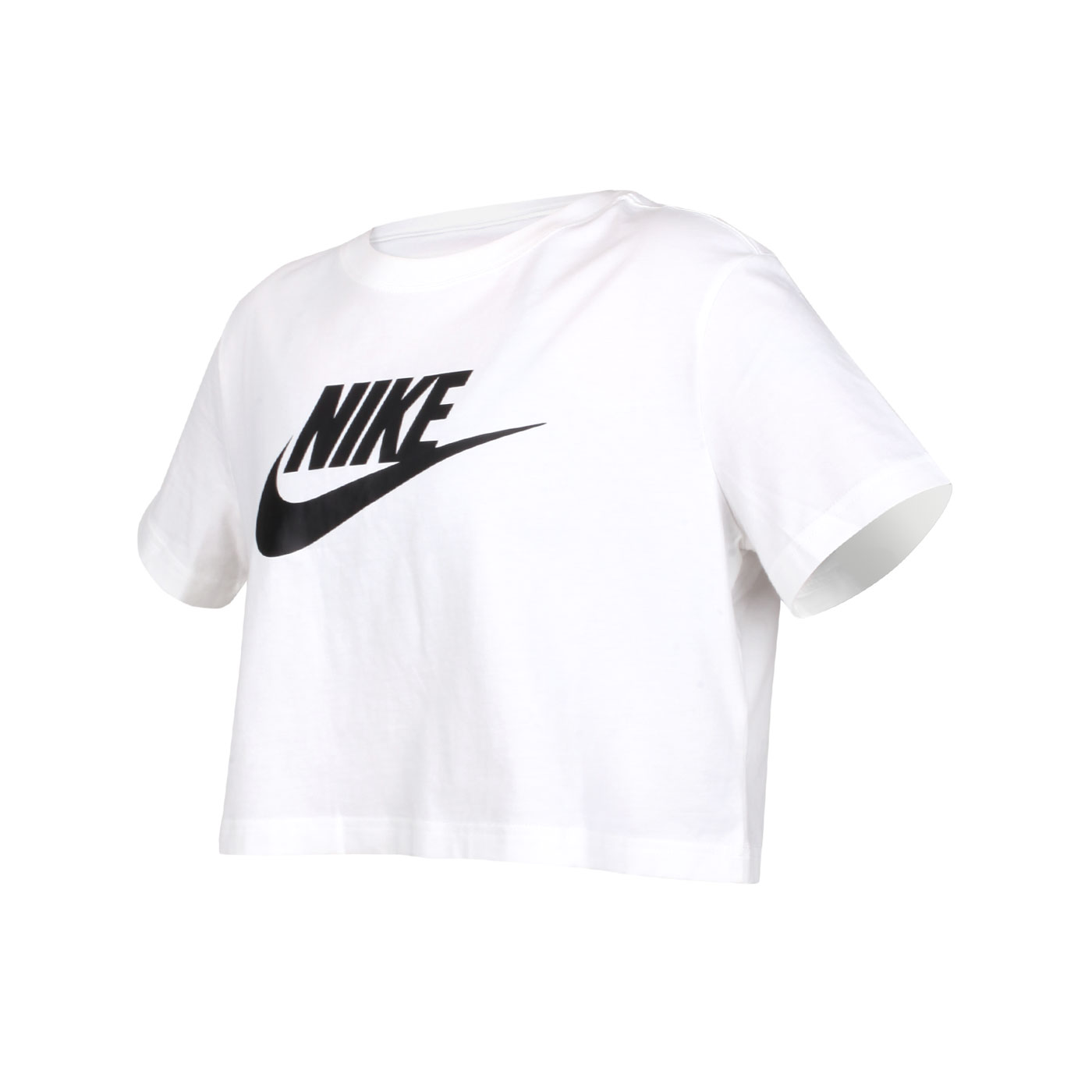 NIKE 女款短袖T恤 BV6176-100 - 白黑