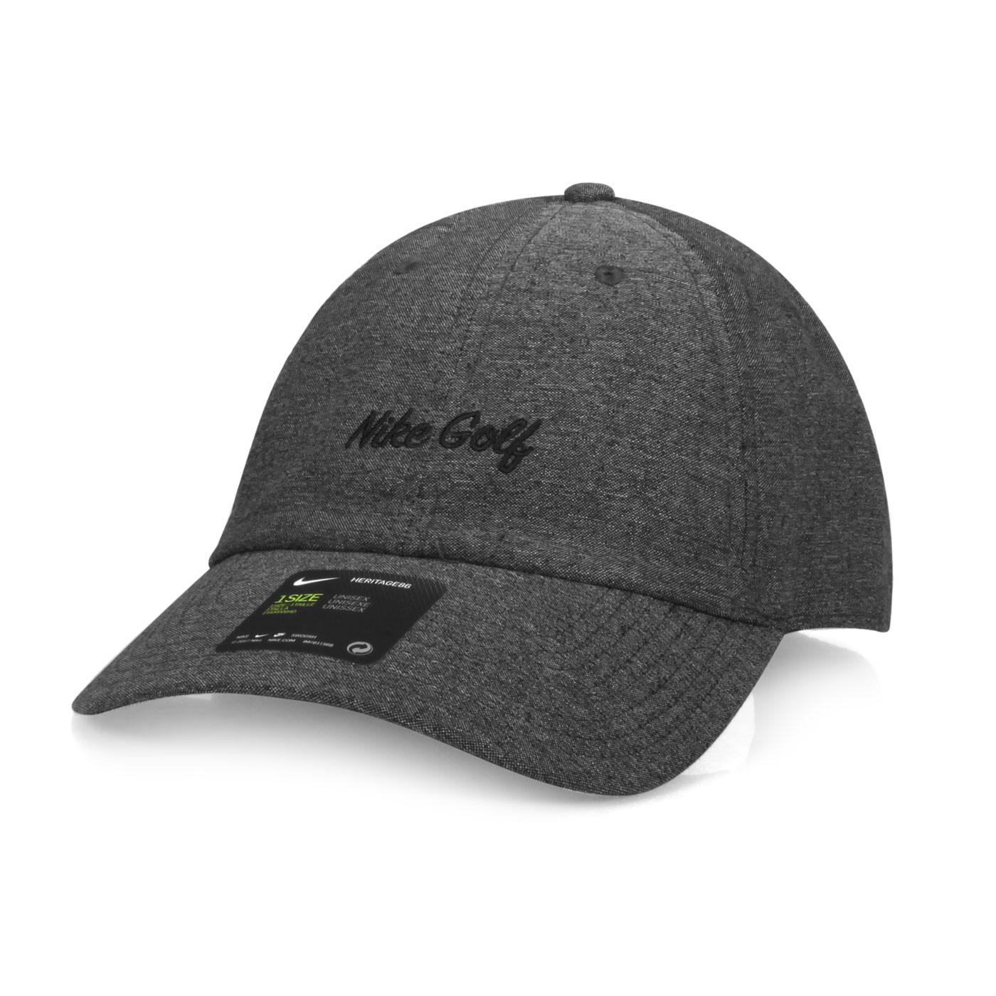 NIKE 運動帽  GOLFBV8228-010 - 深灰黑