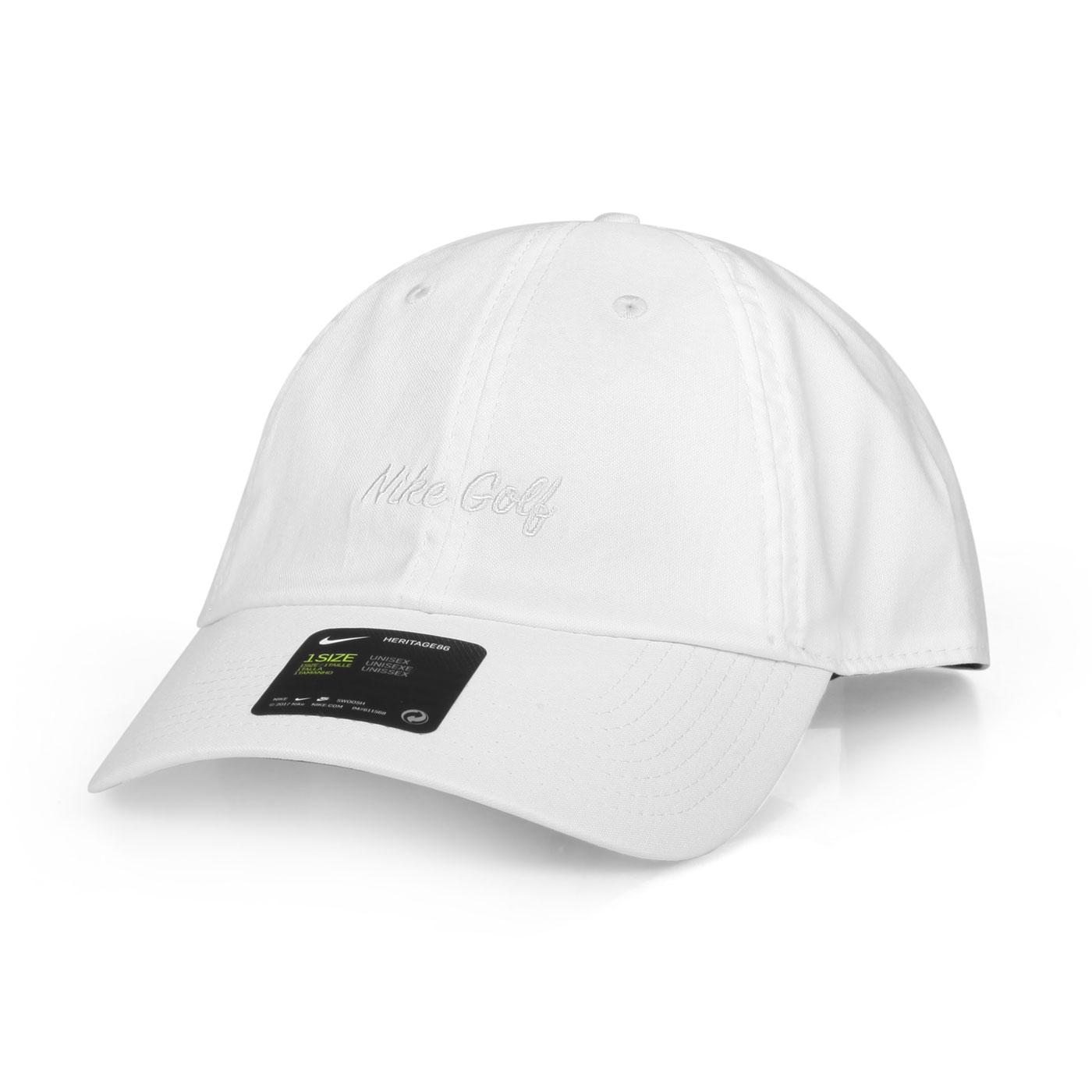 NIKE 運動帽  GOLFBV8228-010 - 白