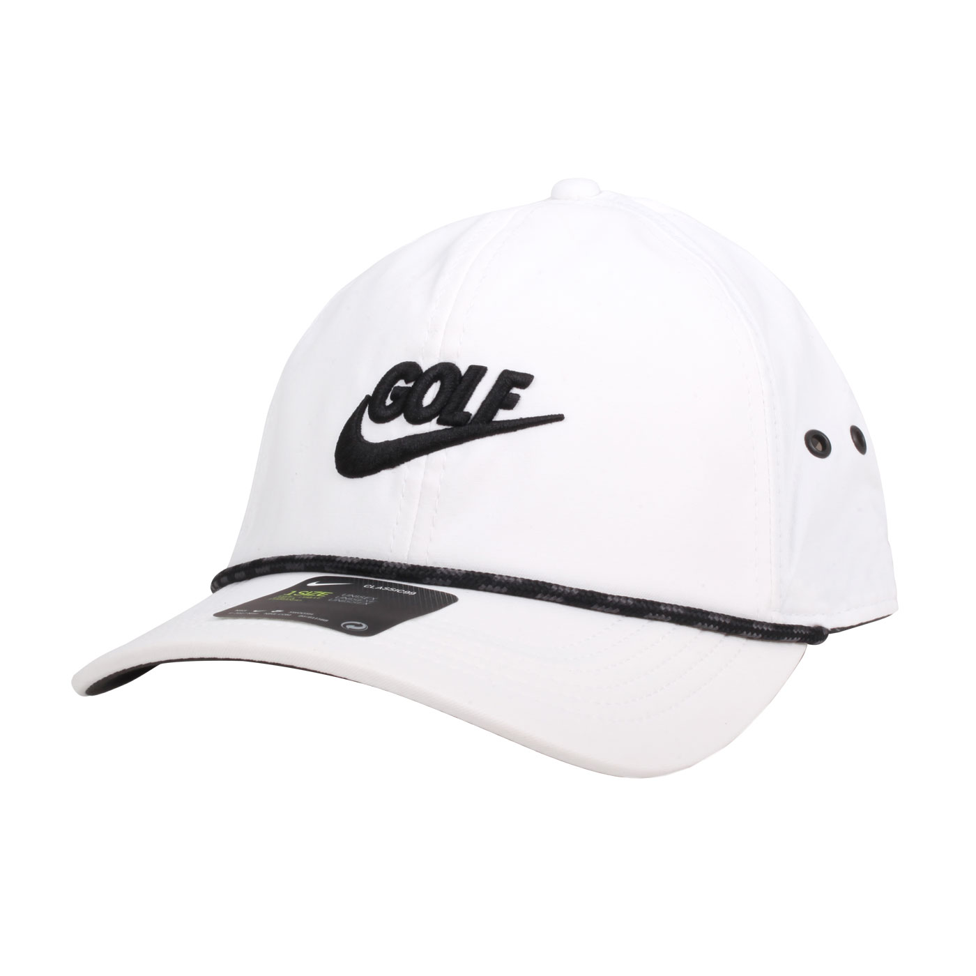 NIKE 高爾夫運動帽  GOLFBV8229-010 - 白黑
