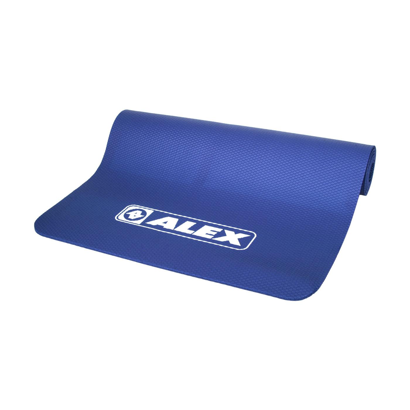 ALEX 專業瑜珈墊 C-1812-1 - 深藍白