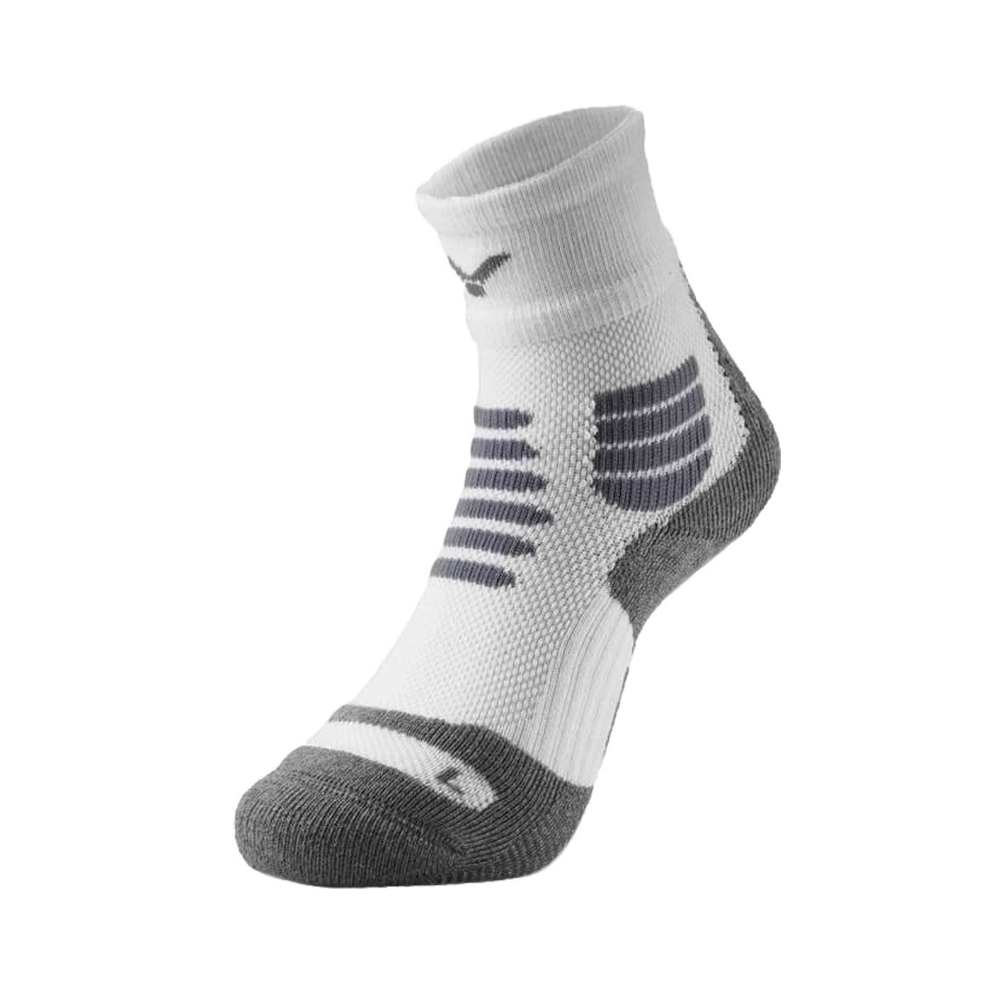 VICTOR 專業羽球襪 C-5054A - 白灰棕
