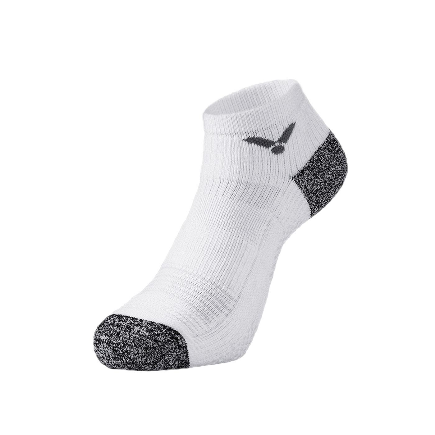 VICTOR 抗菌消臭機能襪 C-5074A - 白灰黑