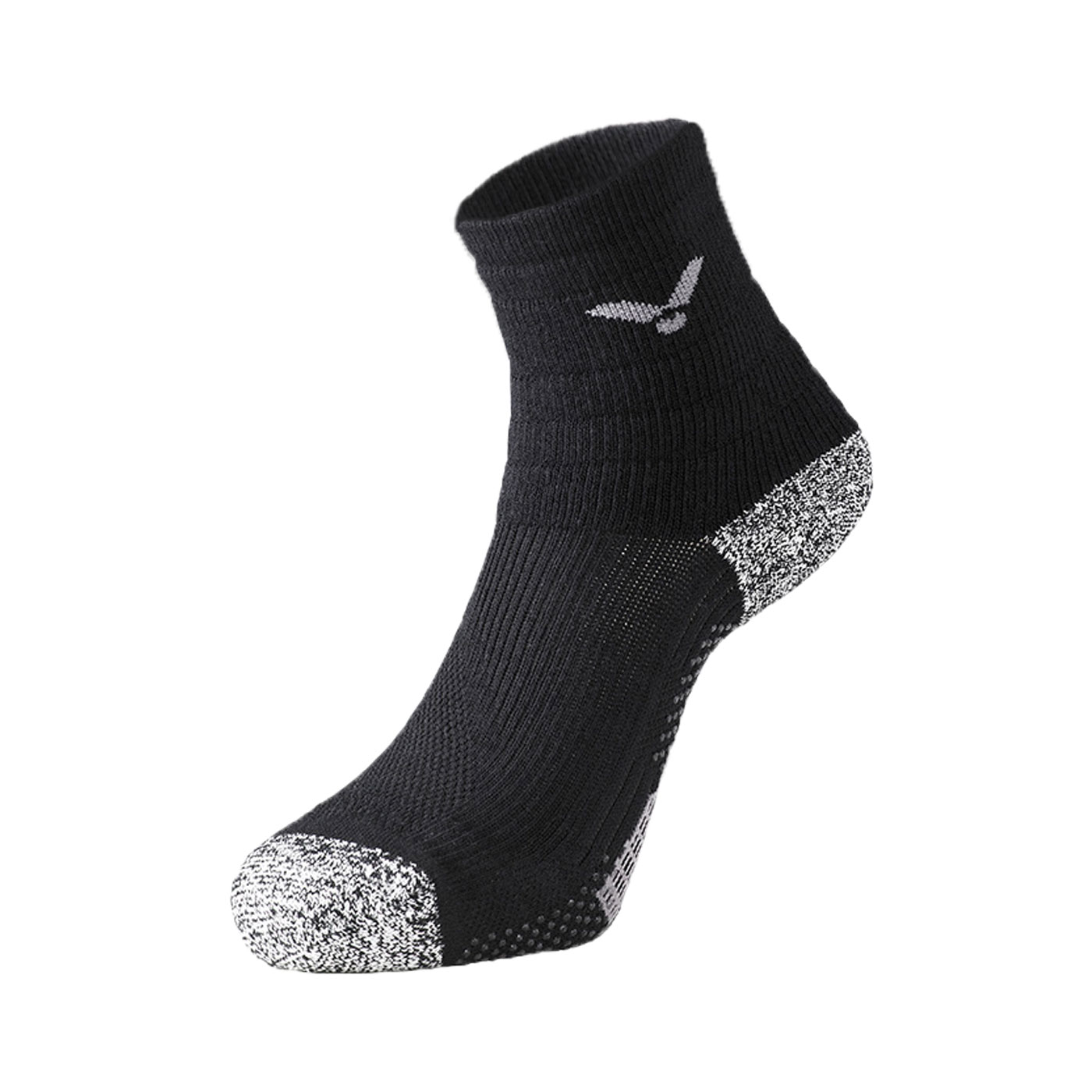 VICTOR 抗菌消臭機能襪 C-5077C - 黑灰