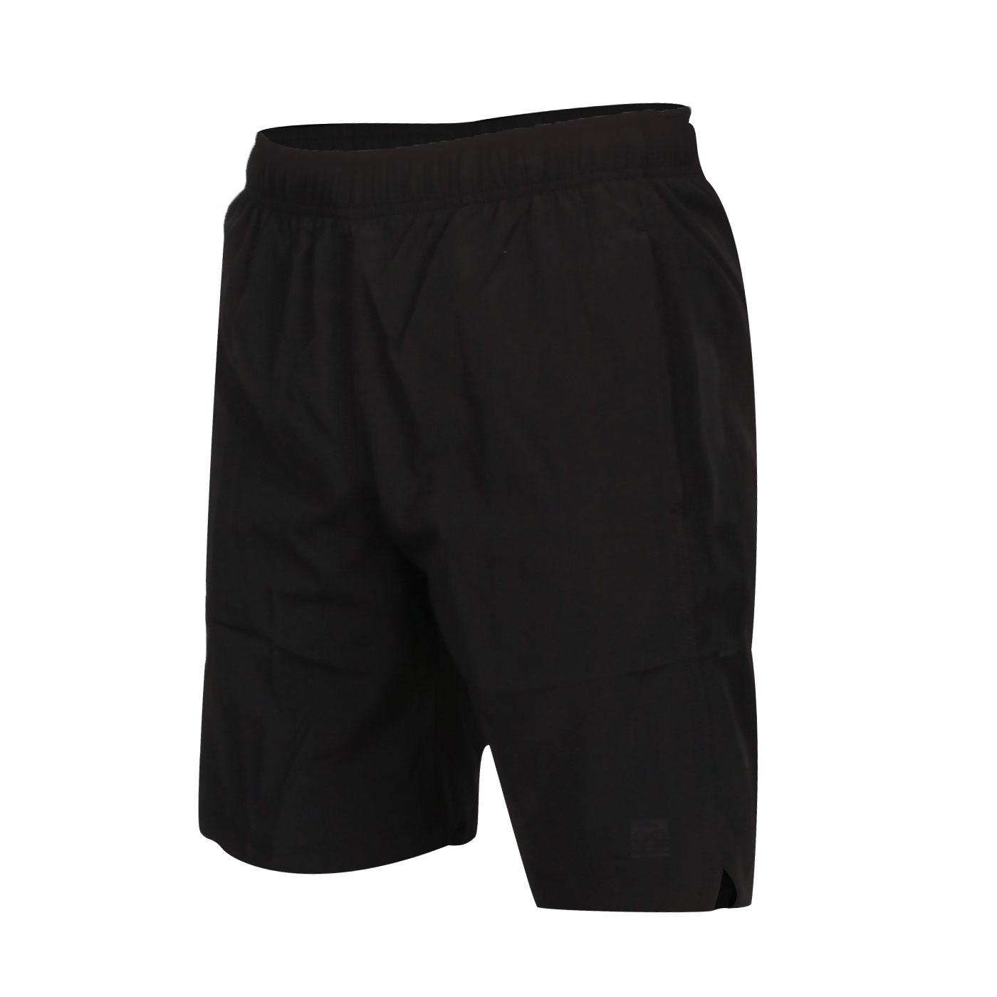 FIRESTAR 男款彈性平織短褲 C0515-10 - 黑